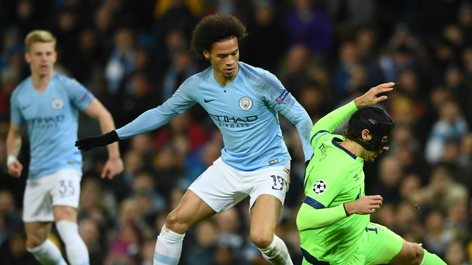 Guardiola savours City depth after Sane stuns Schalke