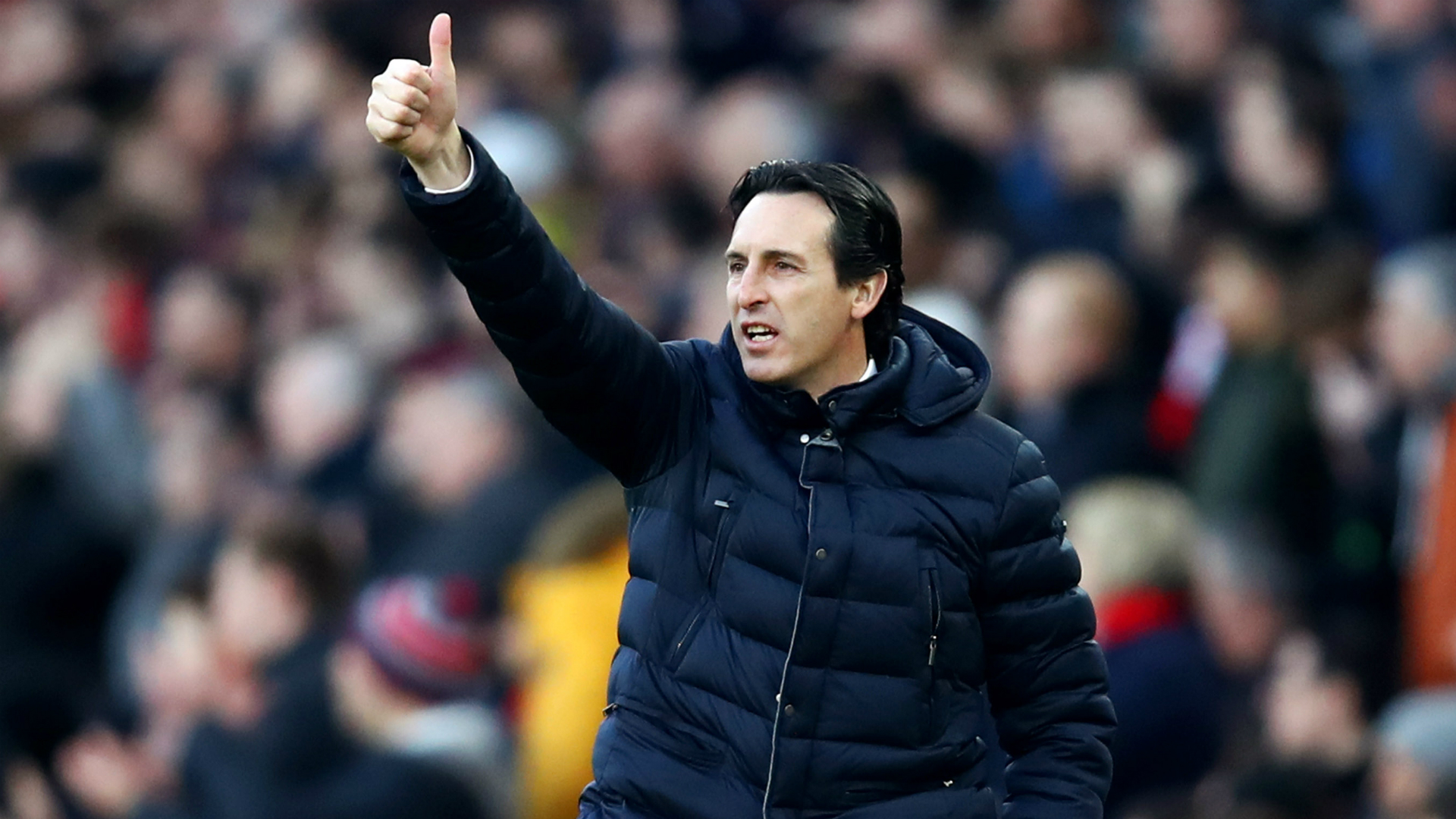 Emery embracing pressure as Arsenal attempt Rennes comeback