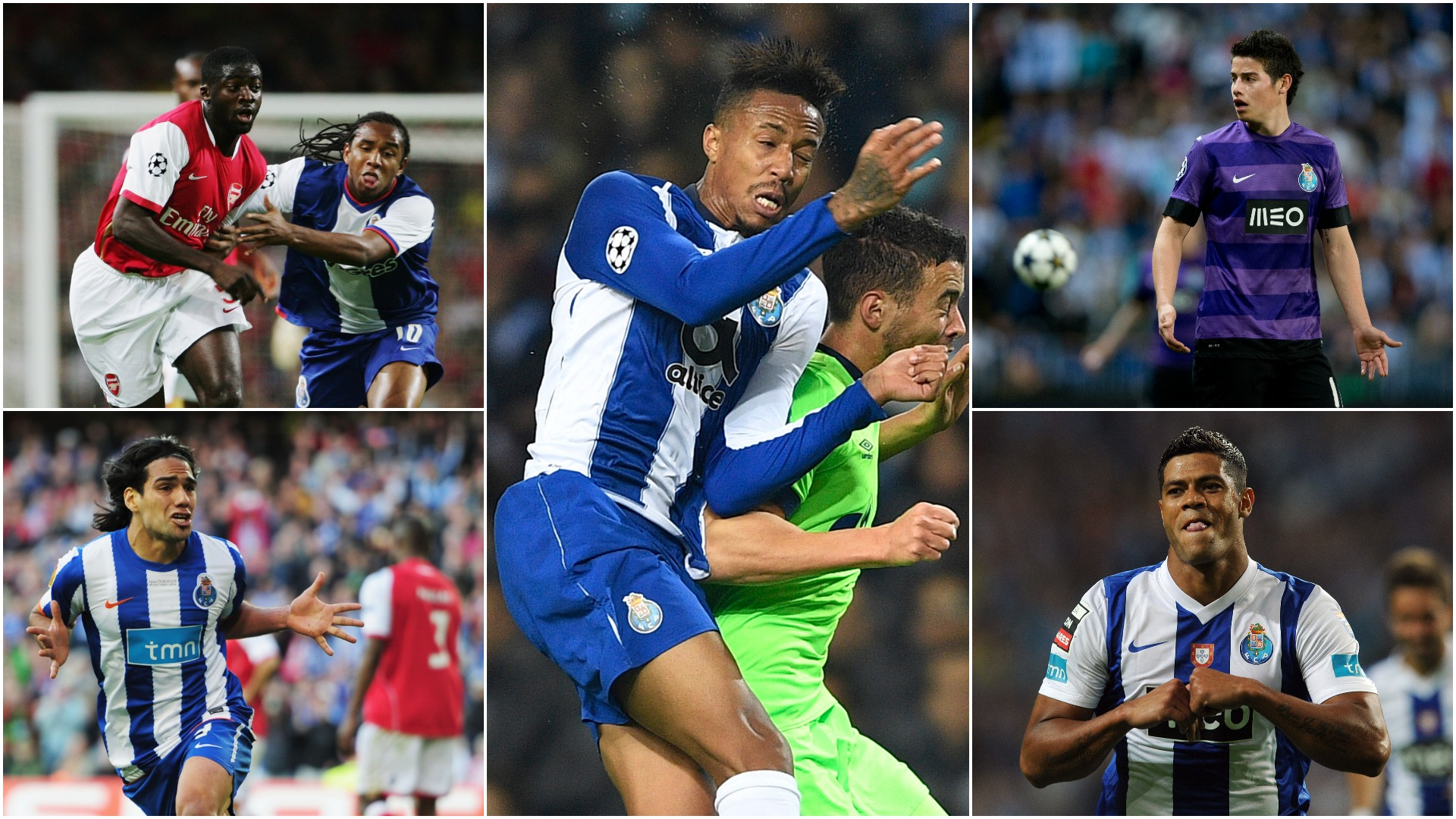 James, Hulk, Falcao and Porto's biggest sales after Militao secures Real Madrid move