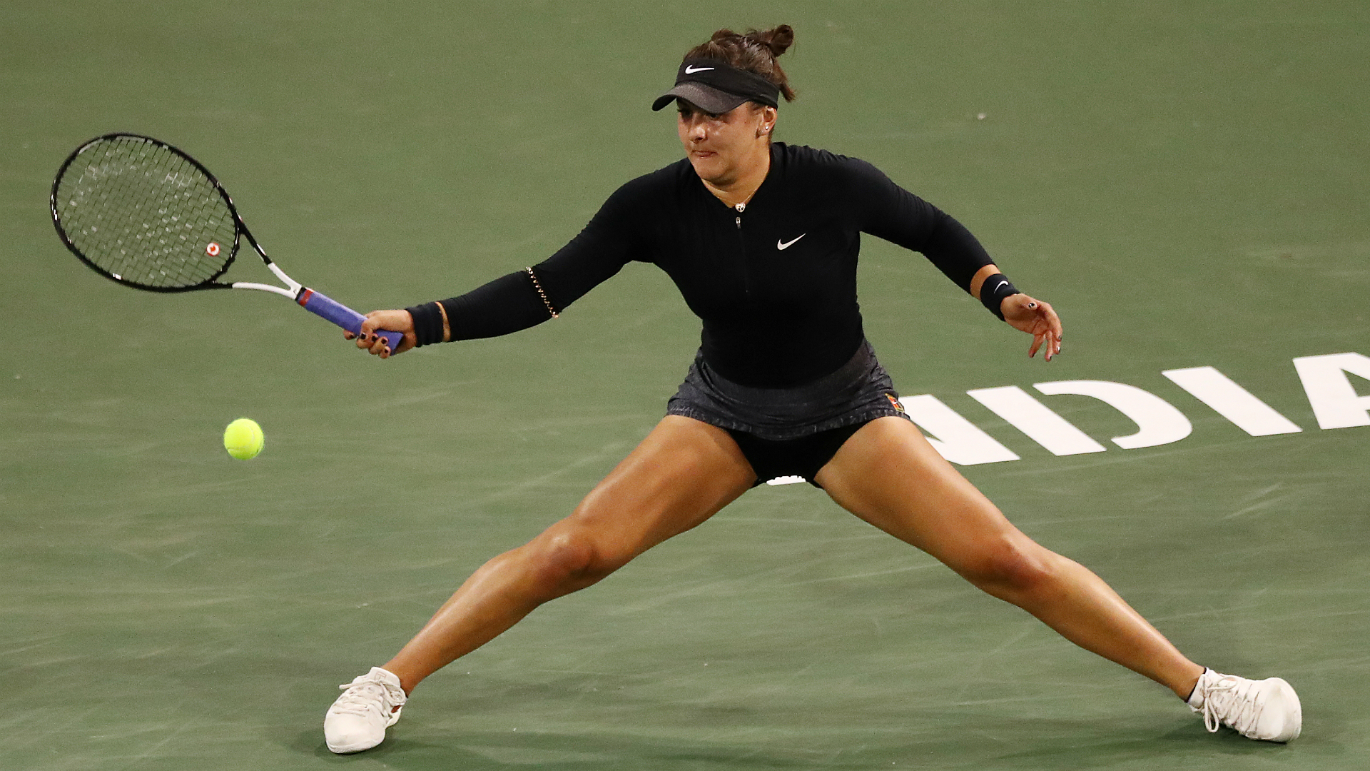 Andreescu overcomes fatigue and Svitolina to reach Indian Wells final