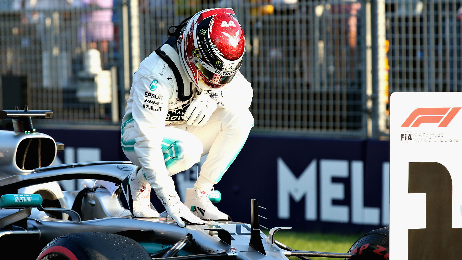Hamilton in 'shock' after Mercedes dominate Ferrari