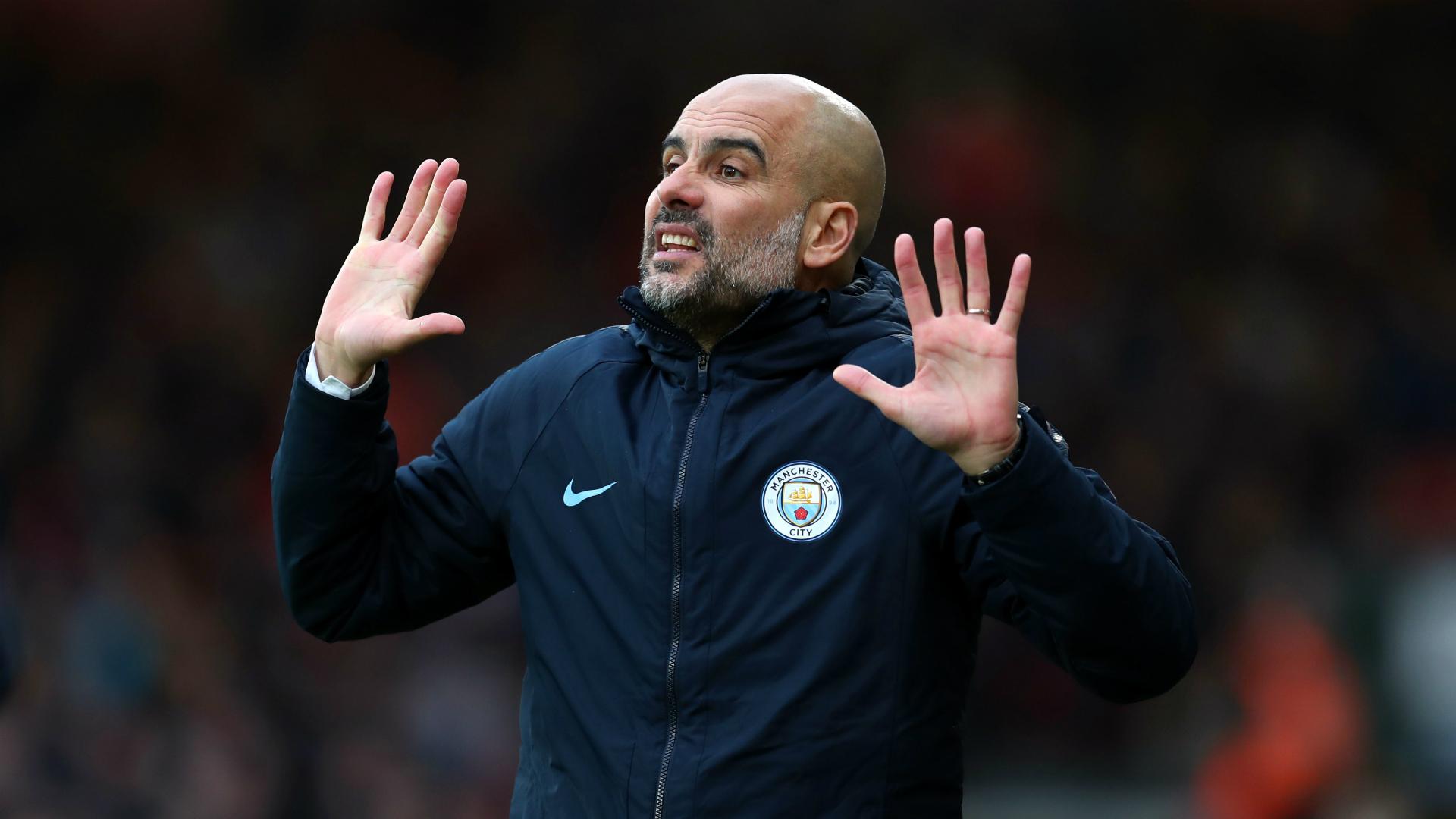 Guardiola rejects Champions League pressure talk