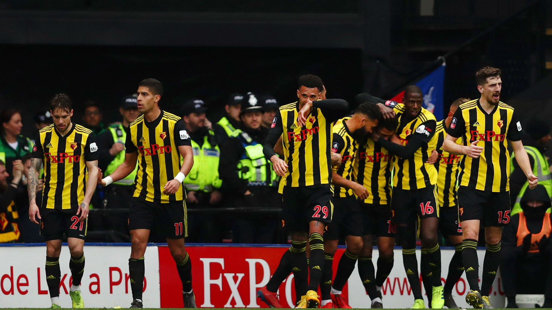 Watford 2 Crystal Palace 1: Late Gray strike puts Hornets into the FA Cup semi-finals