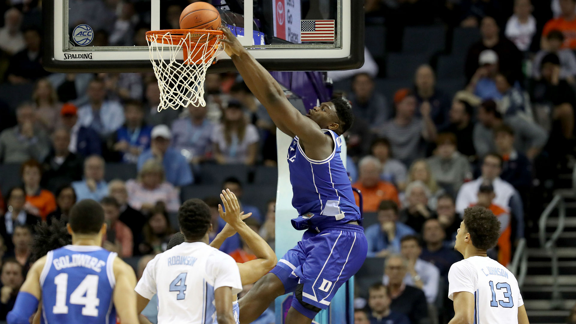 Zion Williamson leads Duke to victory