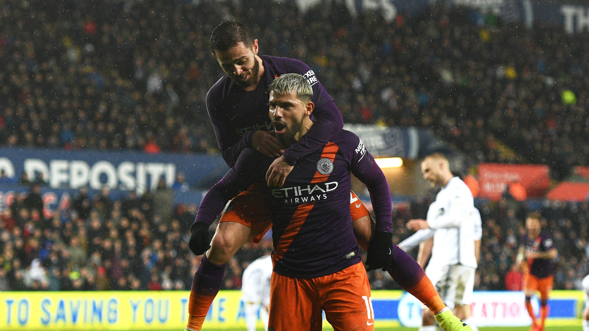 Aguero told not to slack off by Guardiola