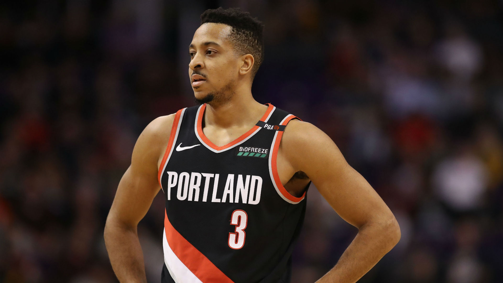 Trail Blazers waiting on CJ McCollum MRI scan