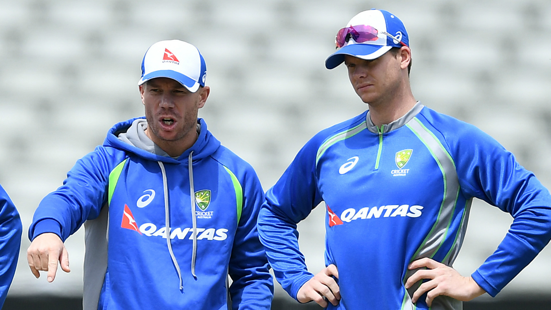Smith, Warner reunited with Australia squad