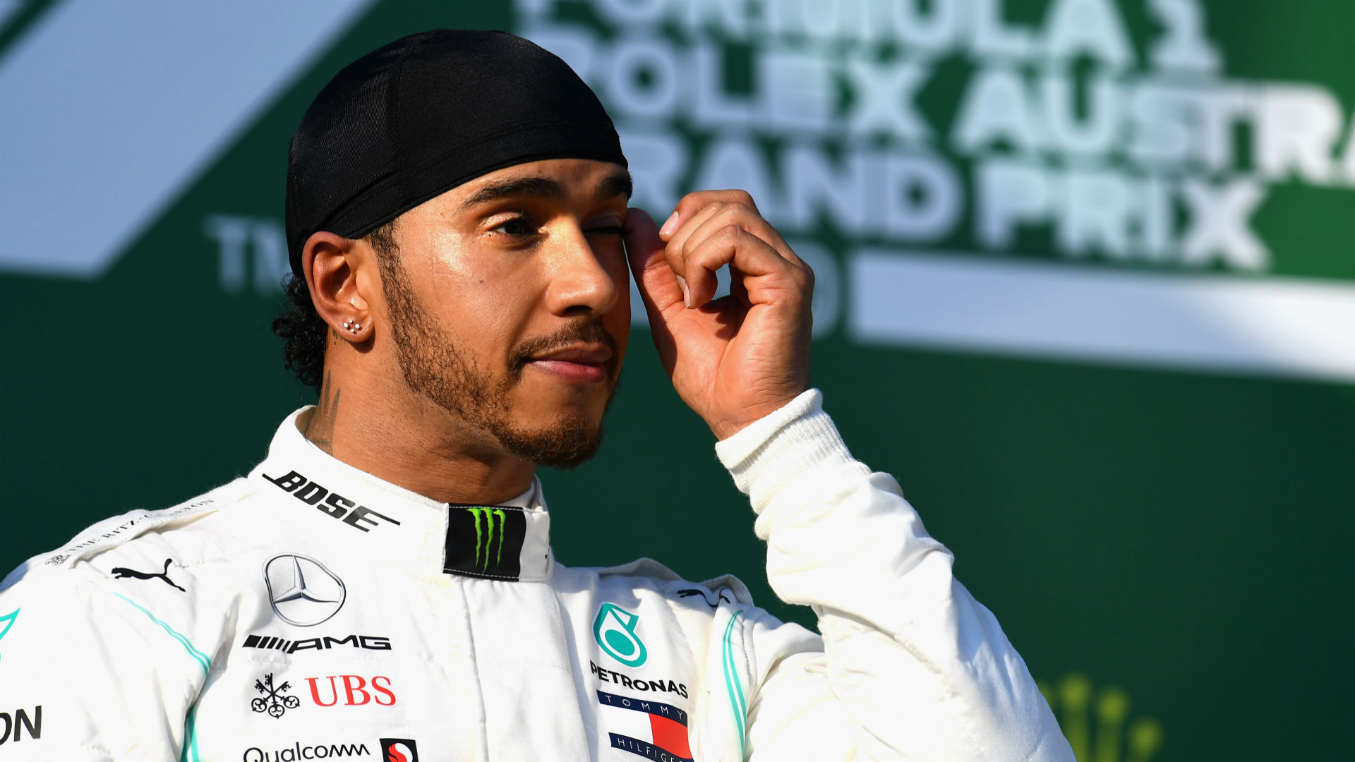 Hamilton 'didn't do a good enough job' in damaged car
