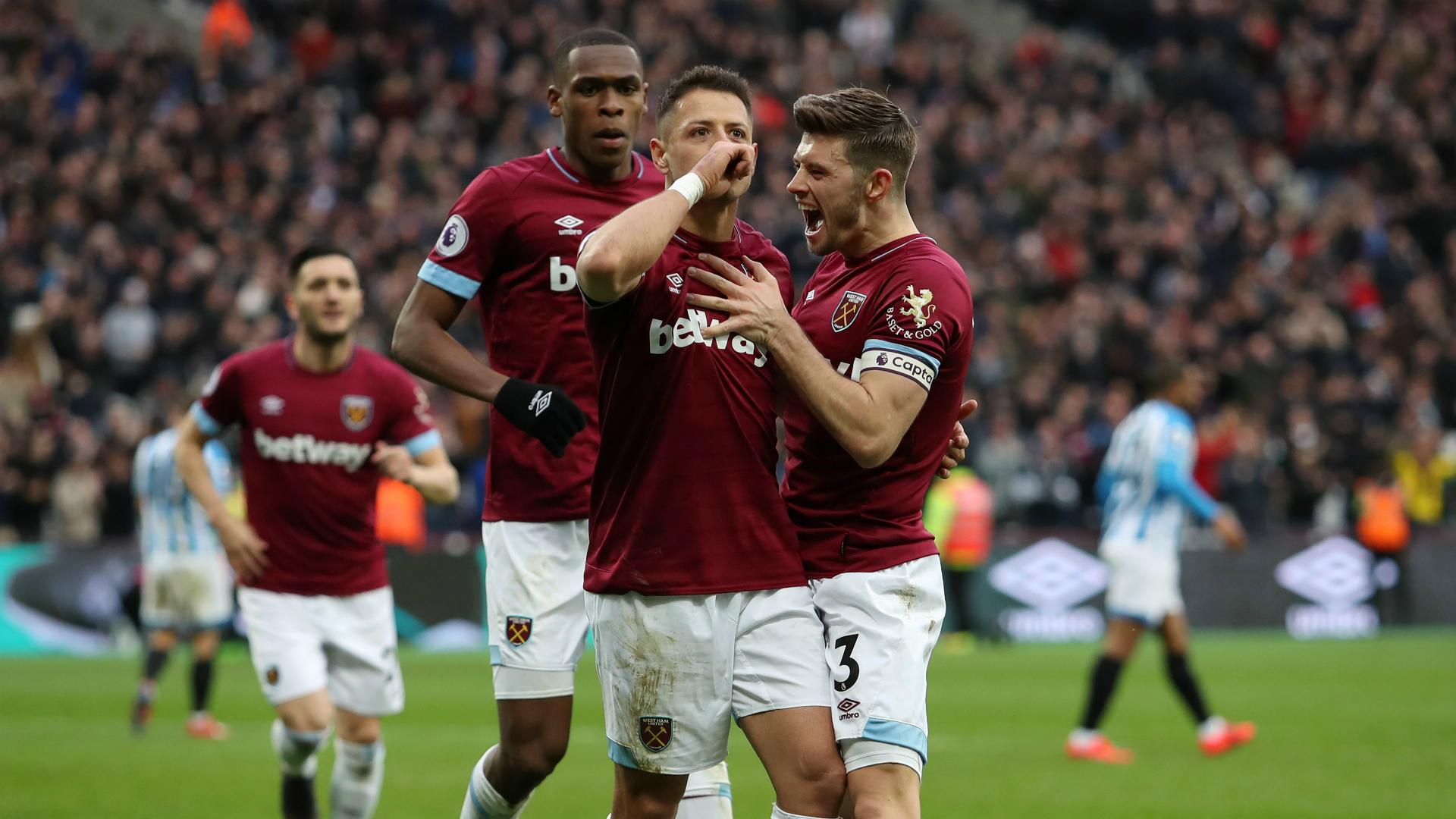 West Ham 4 Huddersfield Town 3: Hernandez's late show stuns Terriers