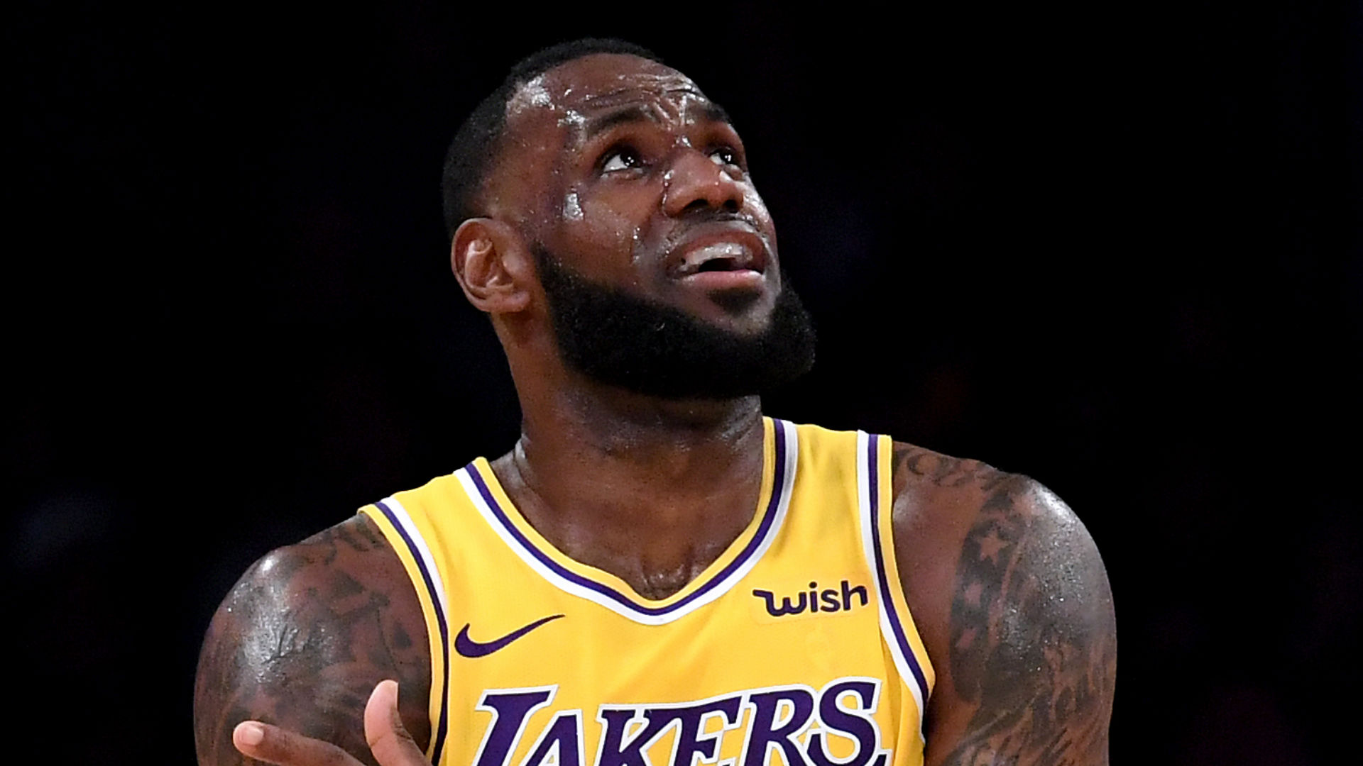 Lakers' LeBron James to play Sunday against Knicks