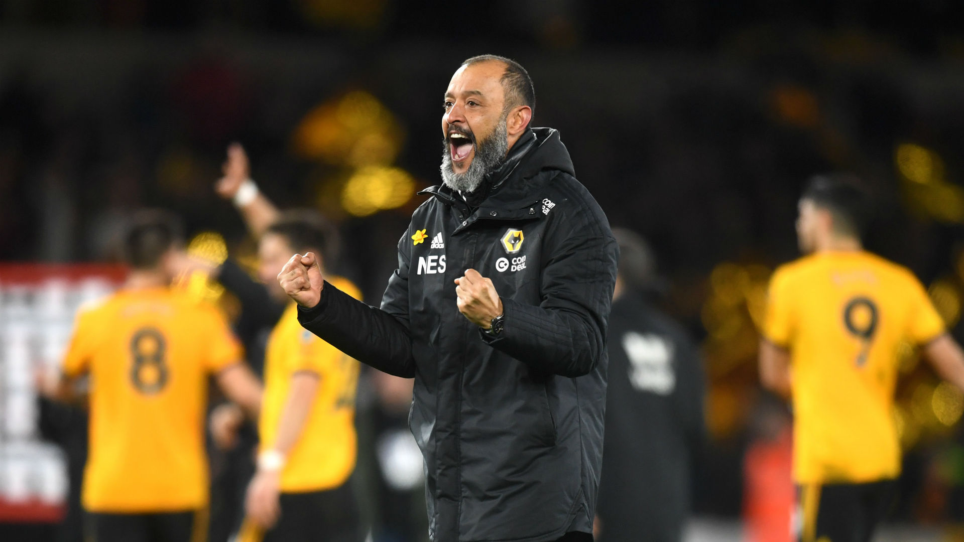 Nuno delighted to take Wolves back to glory days