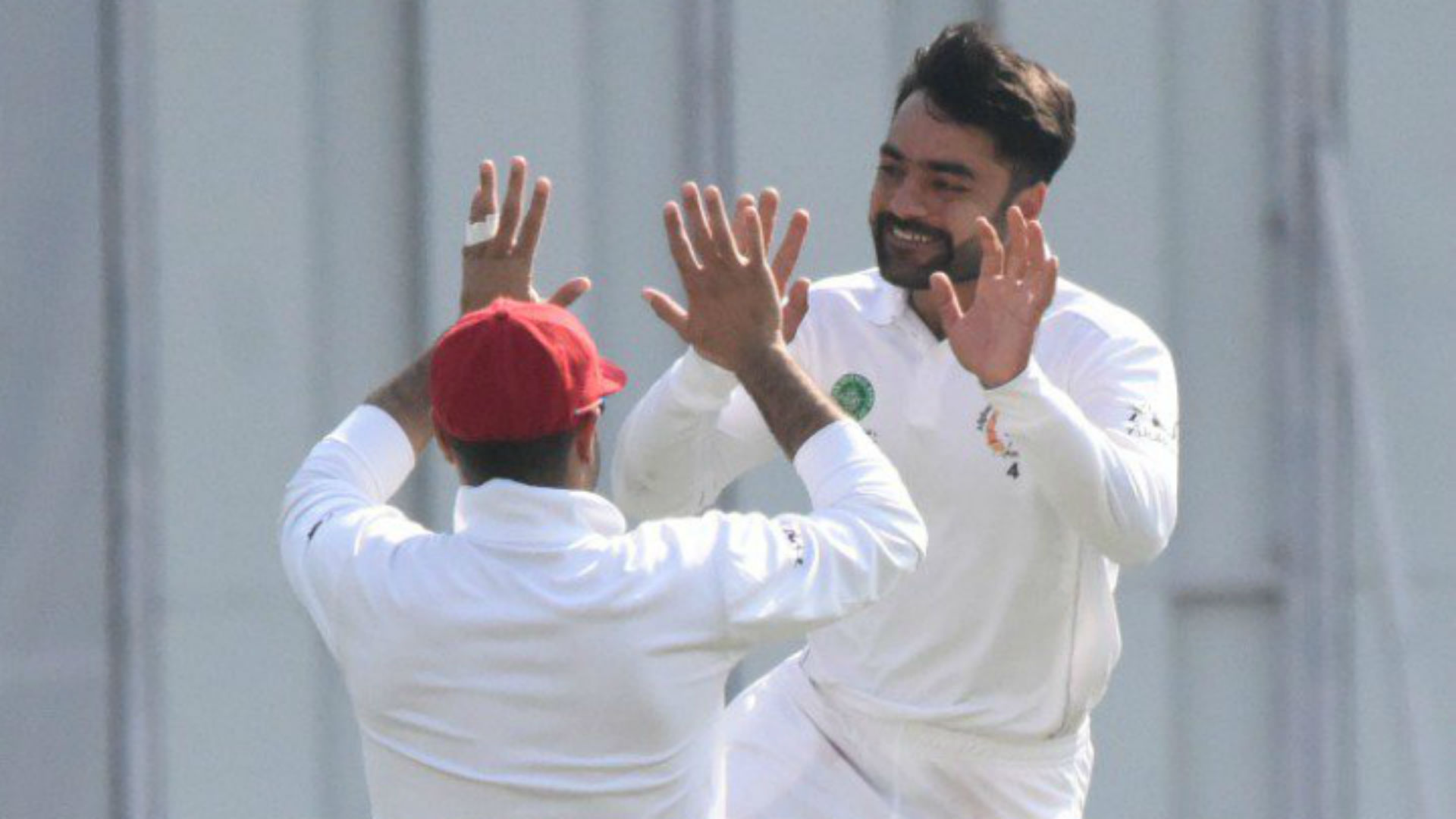 Afghanistan on course for victory after Rashid's five-wicket haul