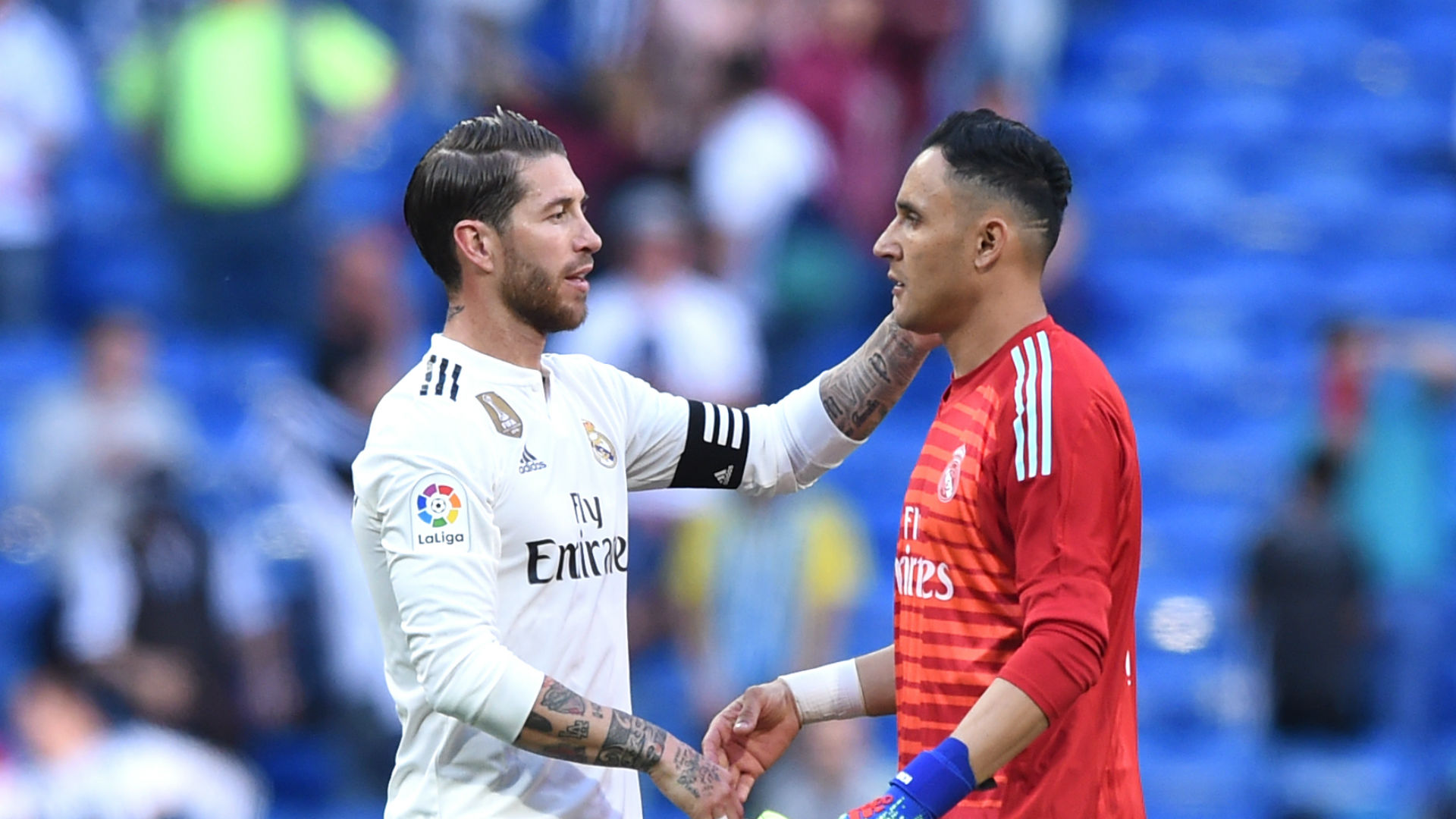 Navas slams critics and delights in Zidane reunion