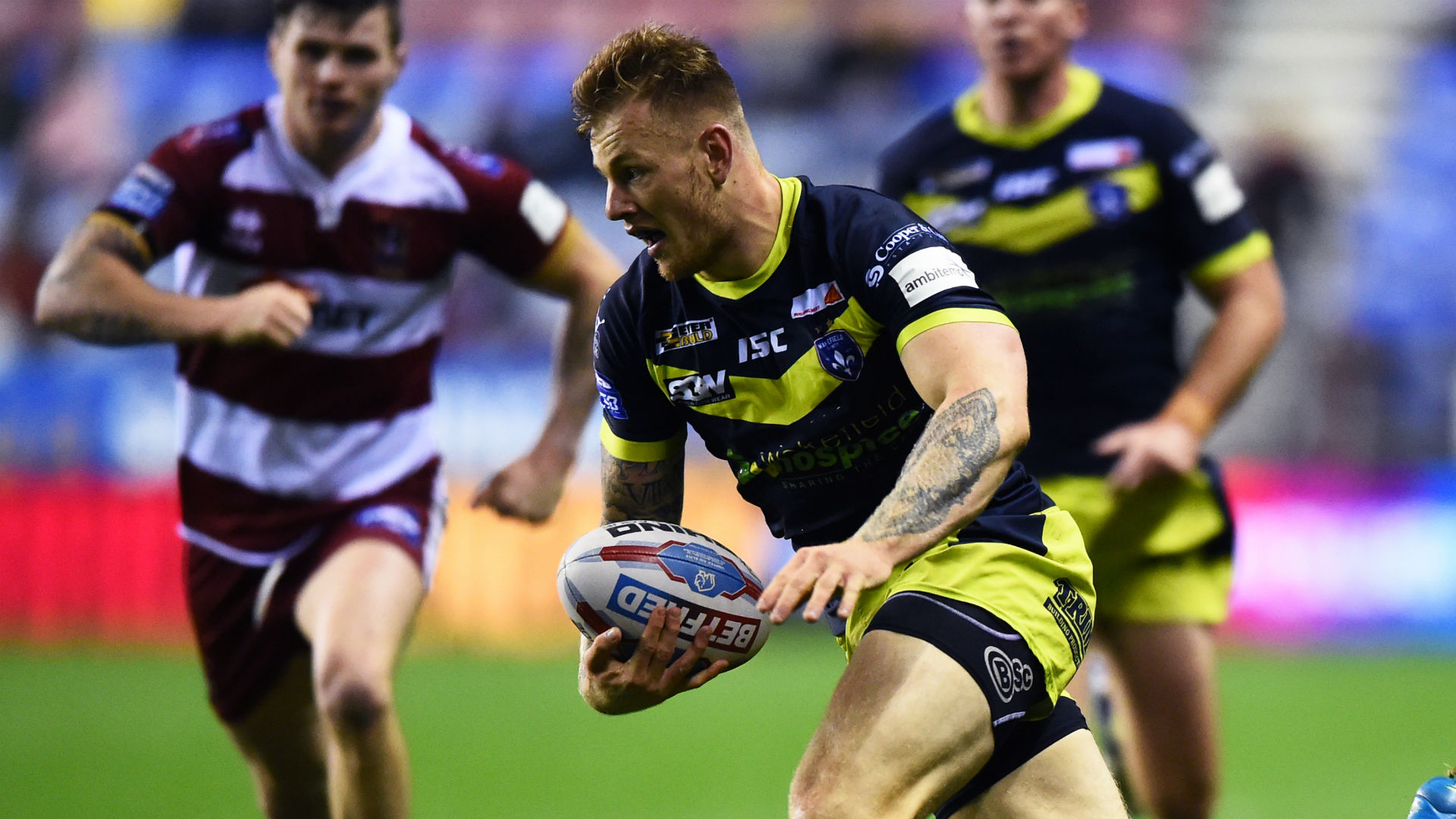 Wakefield wing Johnstone suffers ACL injury