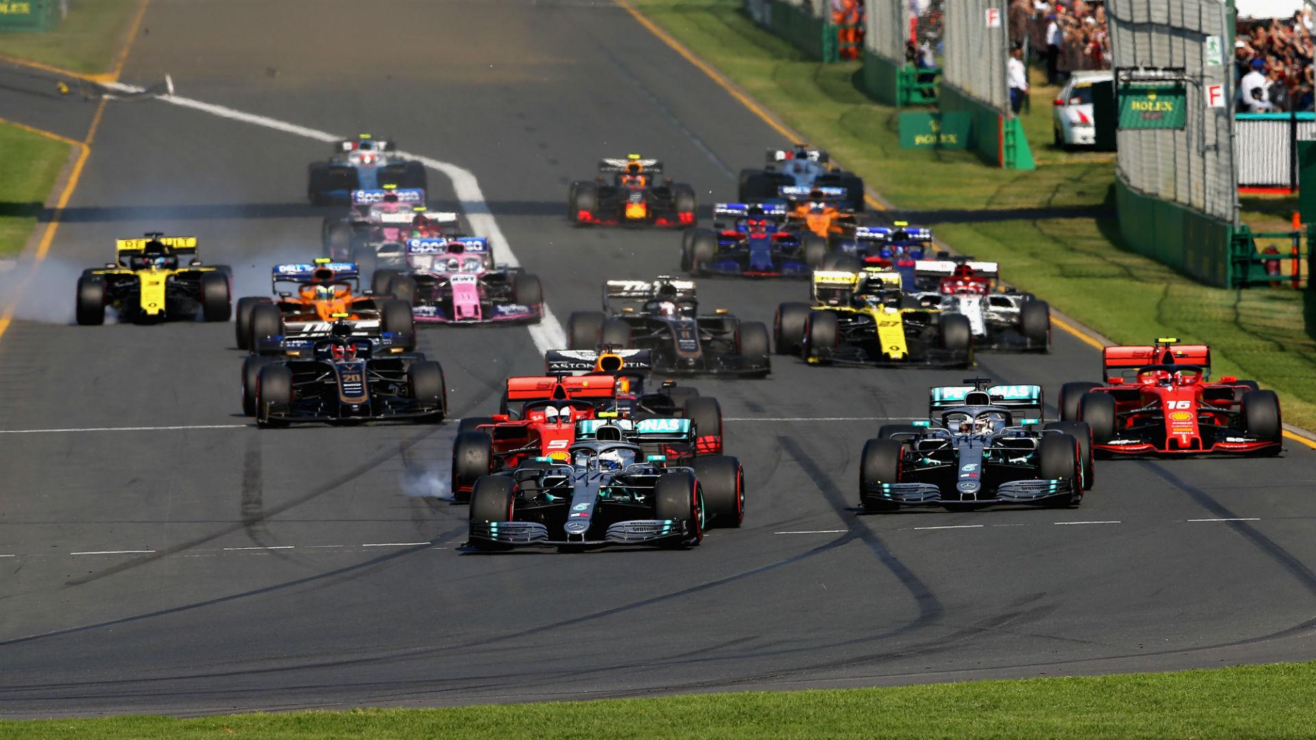 Bottas beats Hamilton to season-opening win in Australia