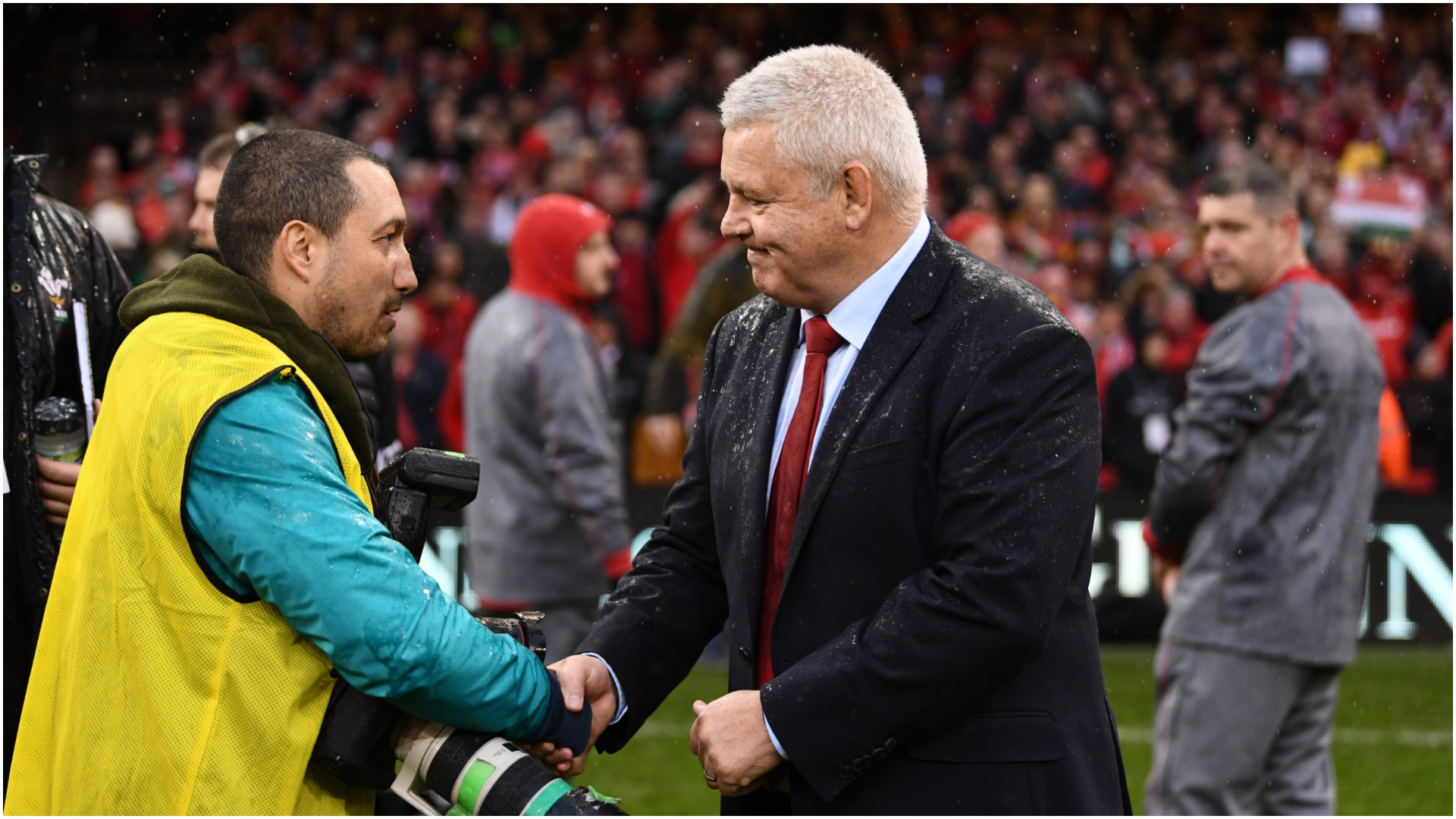 Gatland urges Wales to continue hard work after his departure