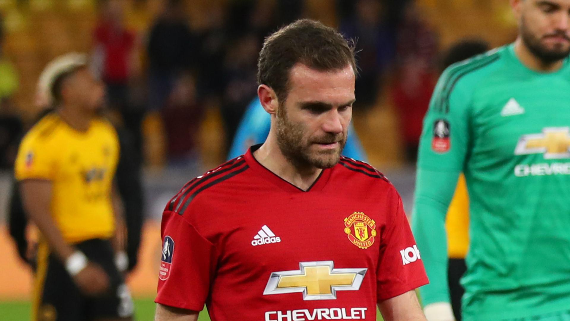 Mata: Defeats will test Man Utd spirit