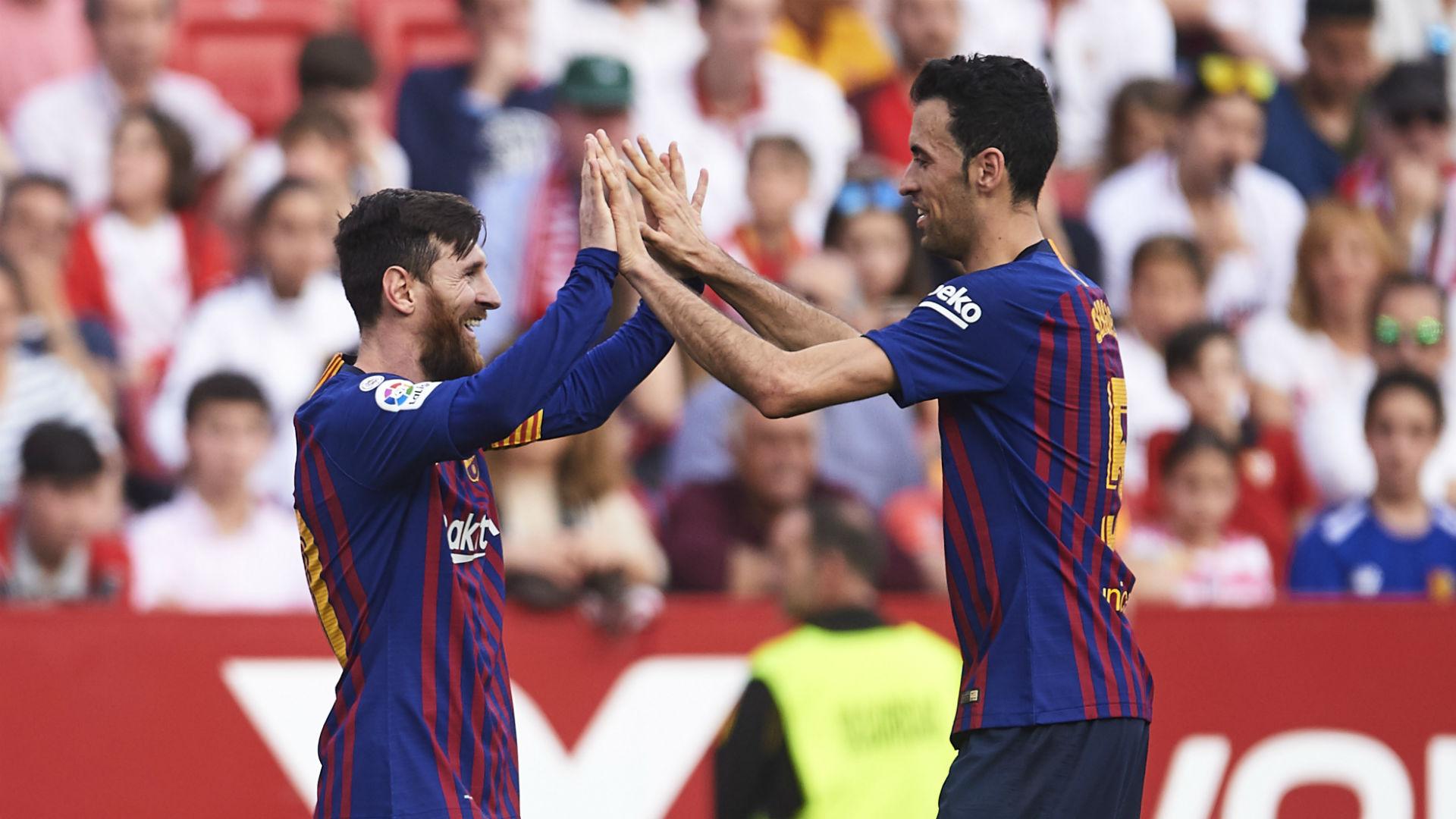 Busquets takes pride in majestic Messi