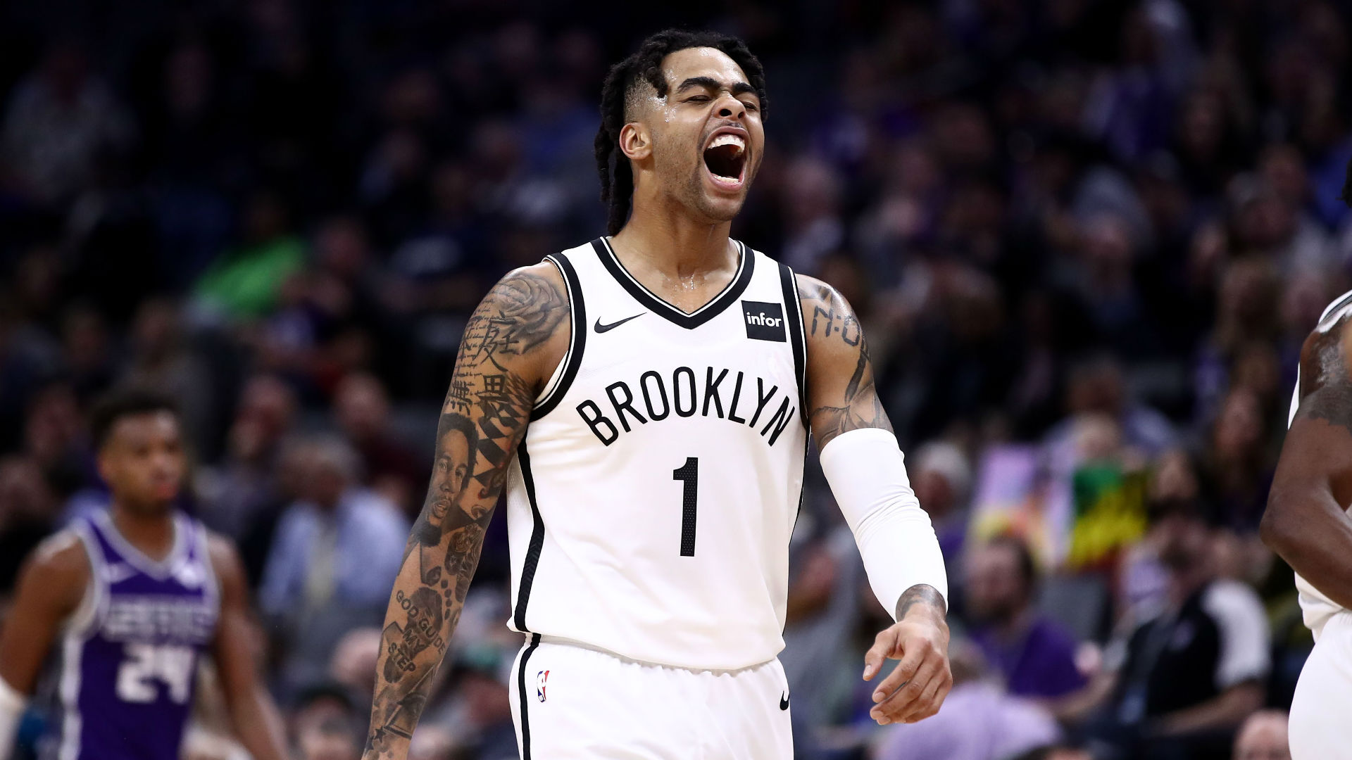 Nets' D'Angelo Russell on his 44-point game vs. Kings: You 'find a way to get it done'