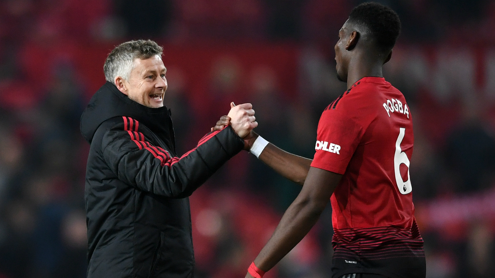 Pogba wants Solskjaer to get permanent Manchester United job
