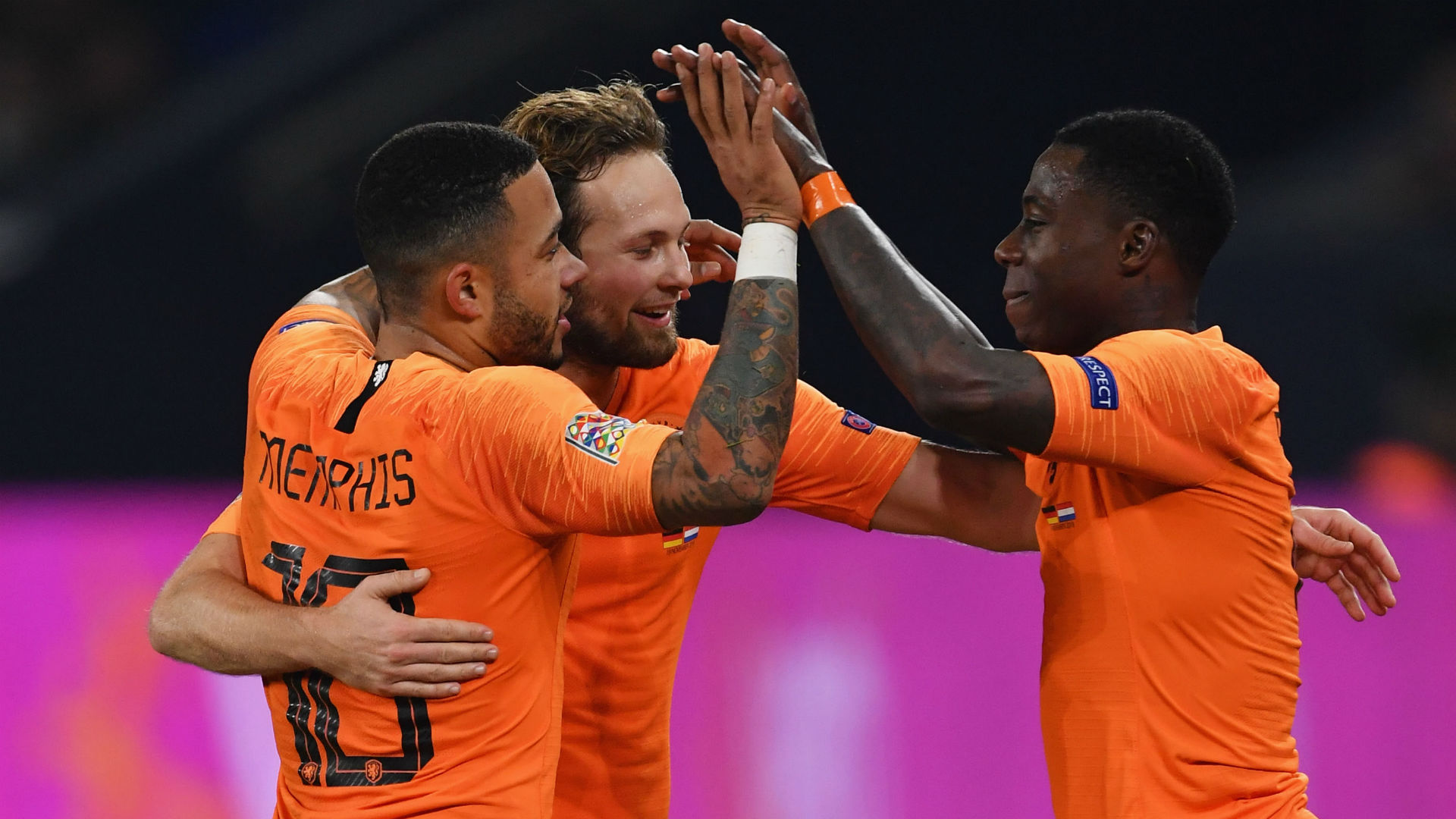 Netherlands 4 Belarus 0: Depay inspires winning start to Euro 2020 qualifiers