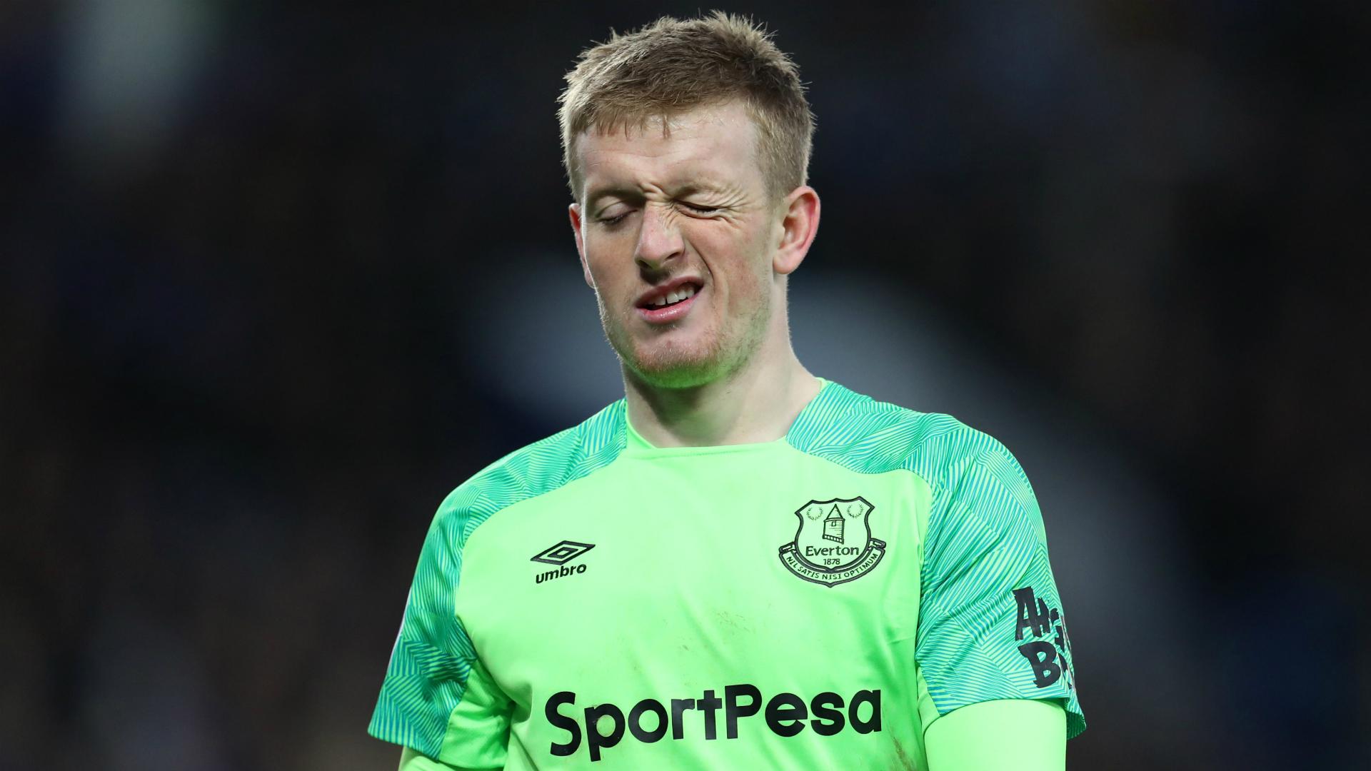 Pickford defends form amid scrutiny over England spot