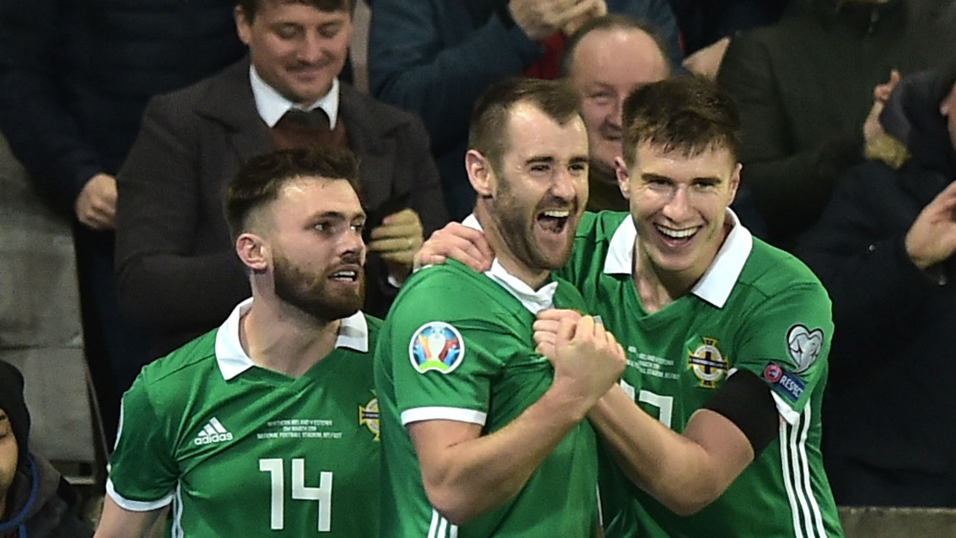 Northern Ireland 2 Estonia 0: McGinn, Davis get Euro 2020 qualification campaign off to a flyer