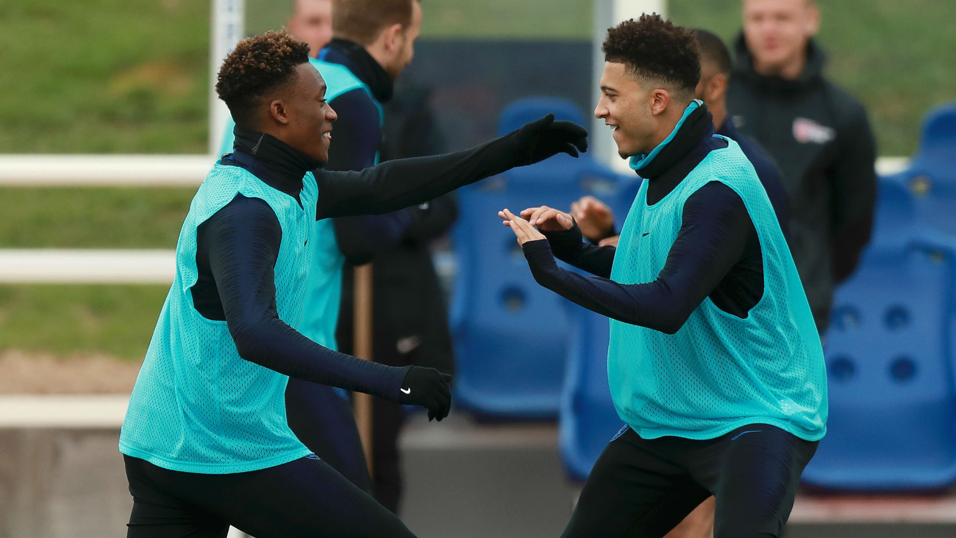 Southgate 'won't hesitate' to start Sancho, Hudson-Odoi after Rashford injury