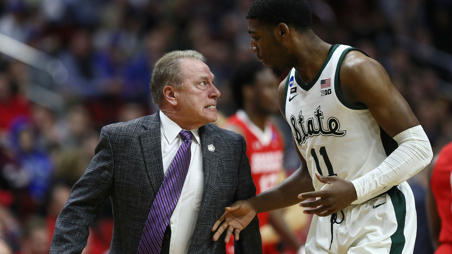 Draymond Green defends Michigan State's Tom Izzo after heated exchange with Aaron Henry