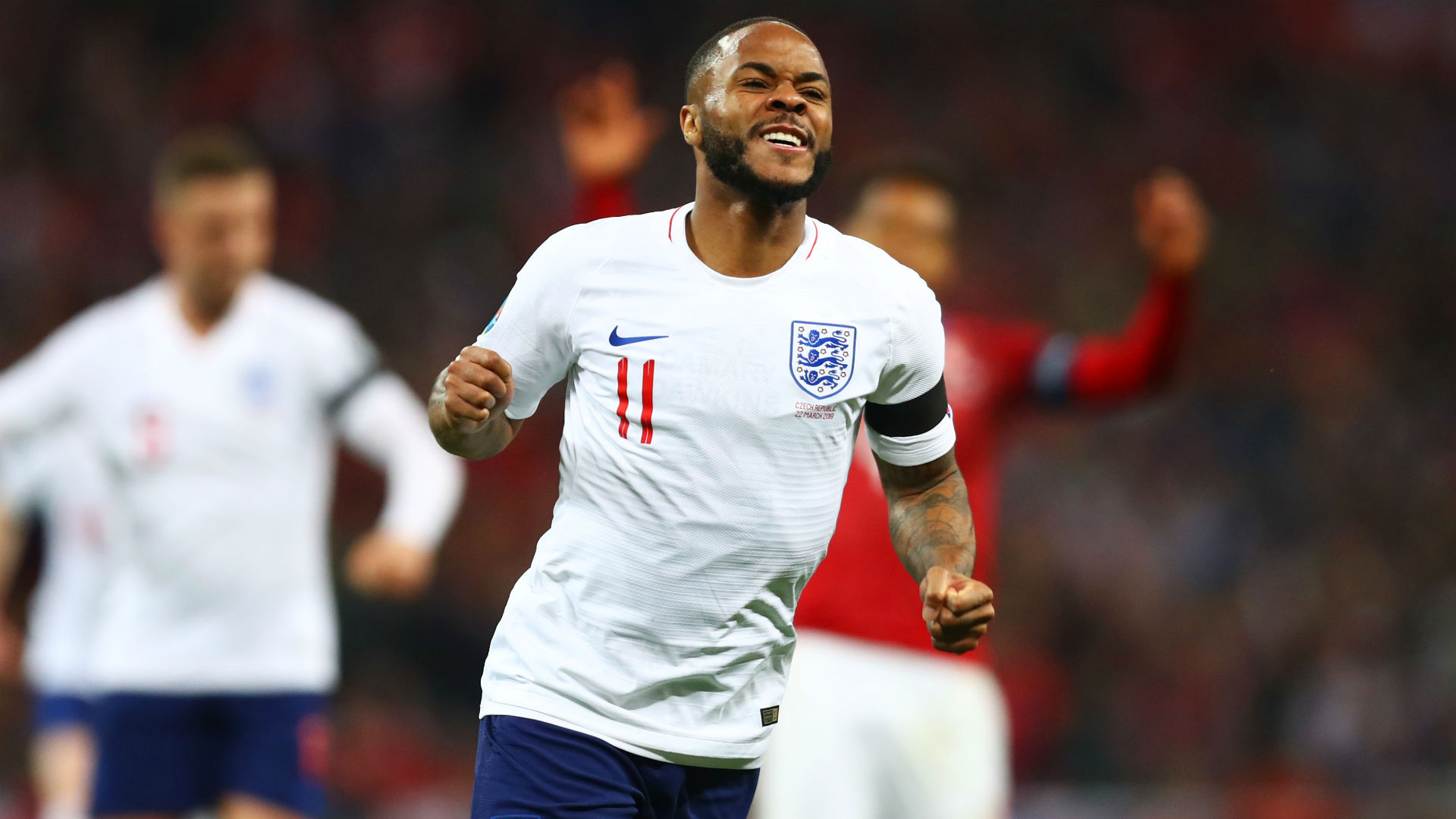 England 5 Czech Republic 0: Sterling hat-trick gives Three Lions roaring start to Euro 2020 qualifiers