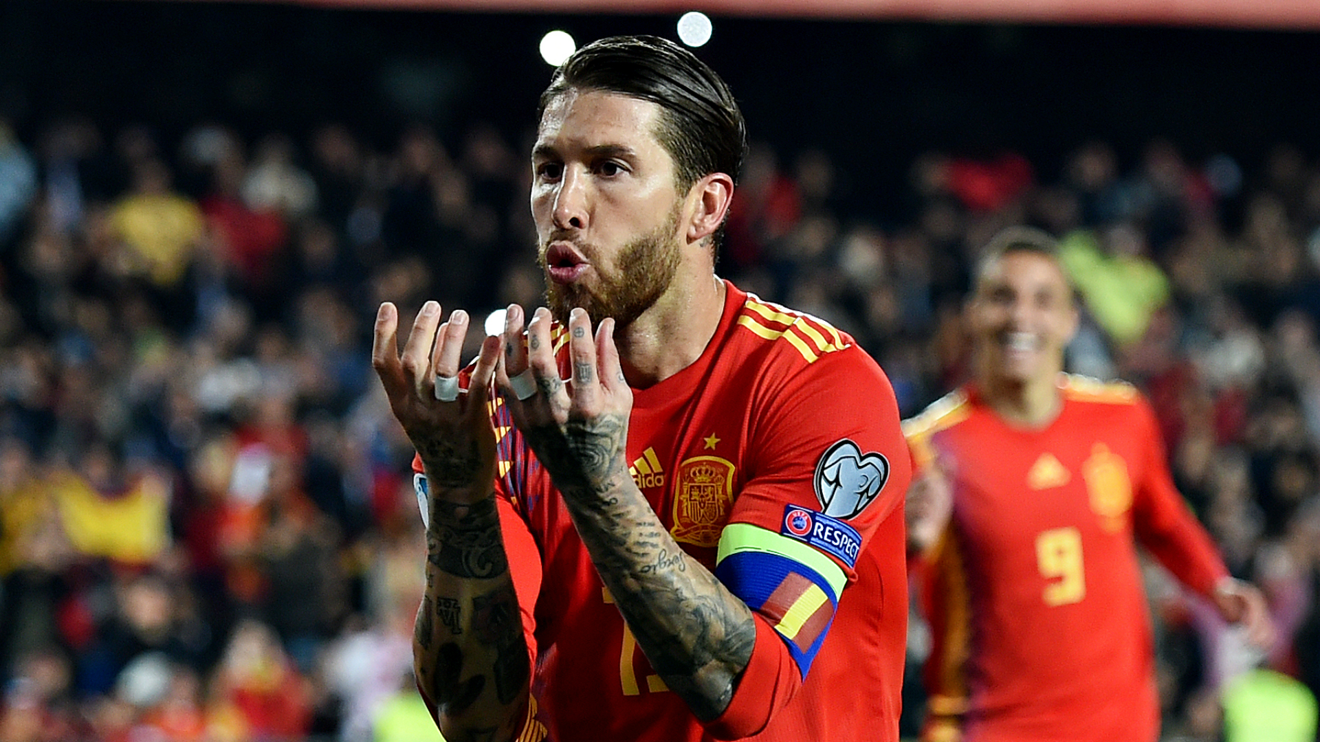 Spain 2 Norway 1: Ramos penalty gets La Roja up and running