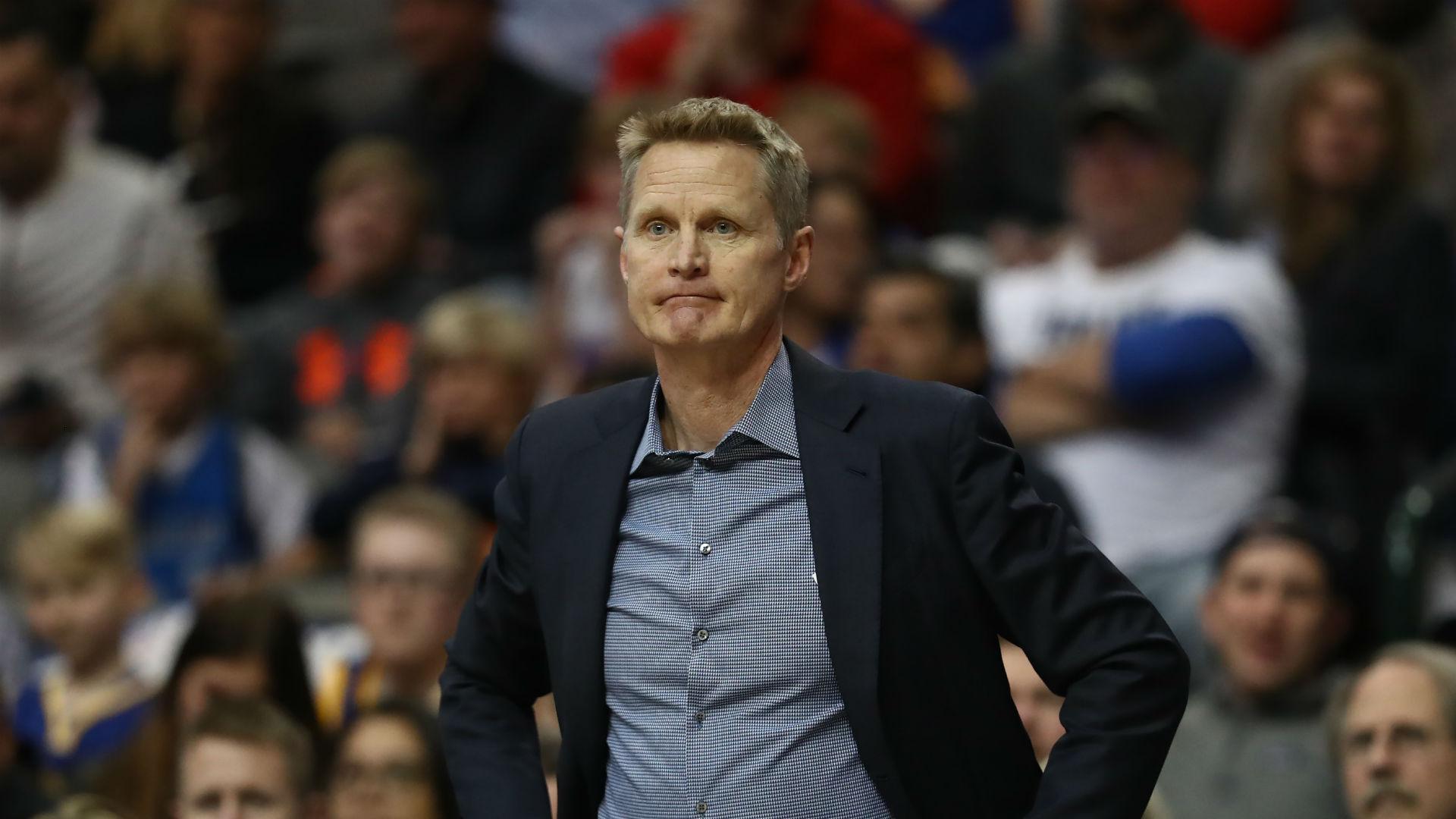 Warriors coach Steve Kerr explains 35-point loss to Mavericks
