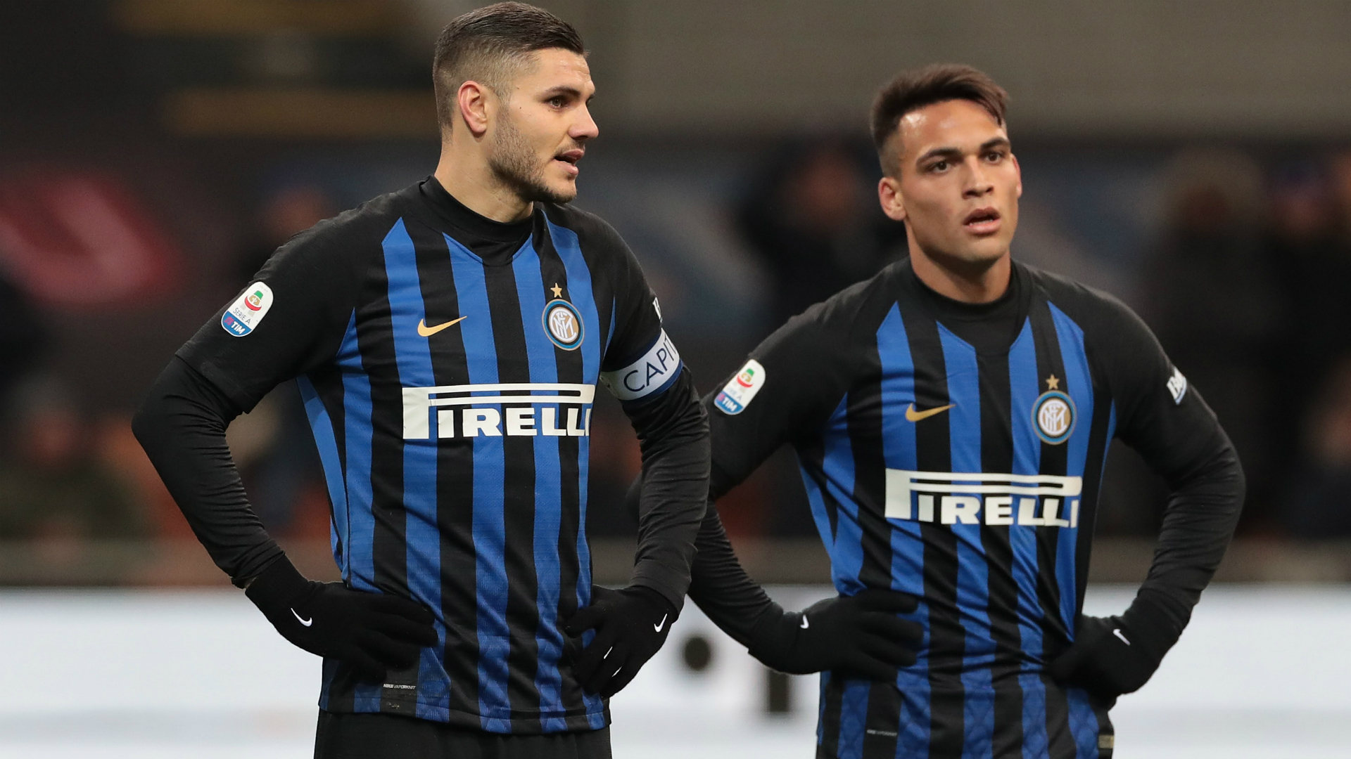Inter play better with Lautaro, says Pirlo
