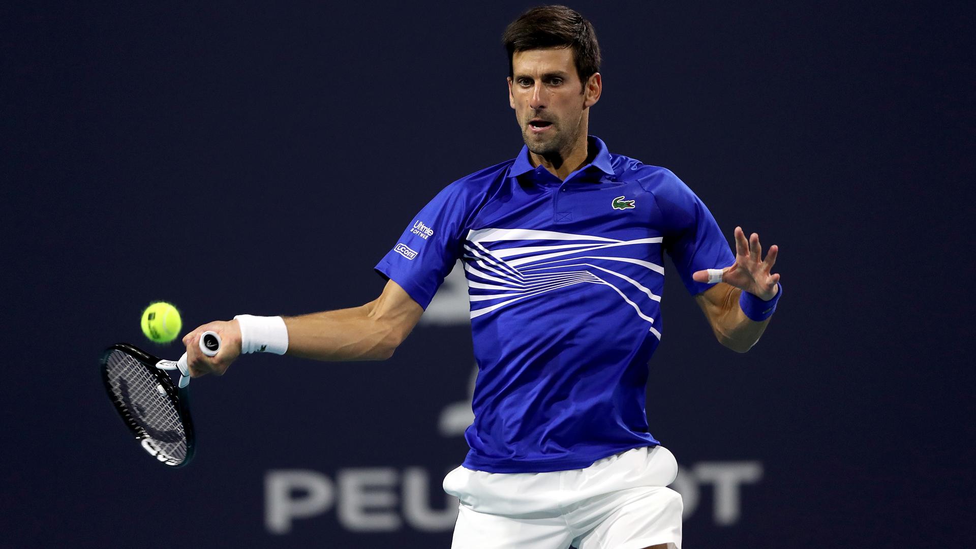 Djokovic overcomes Delbonis in Miami