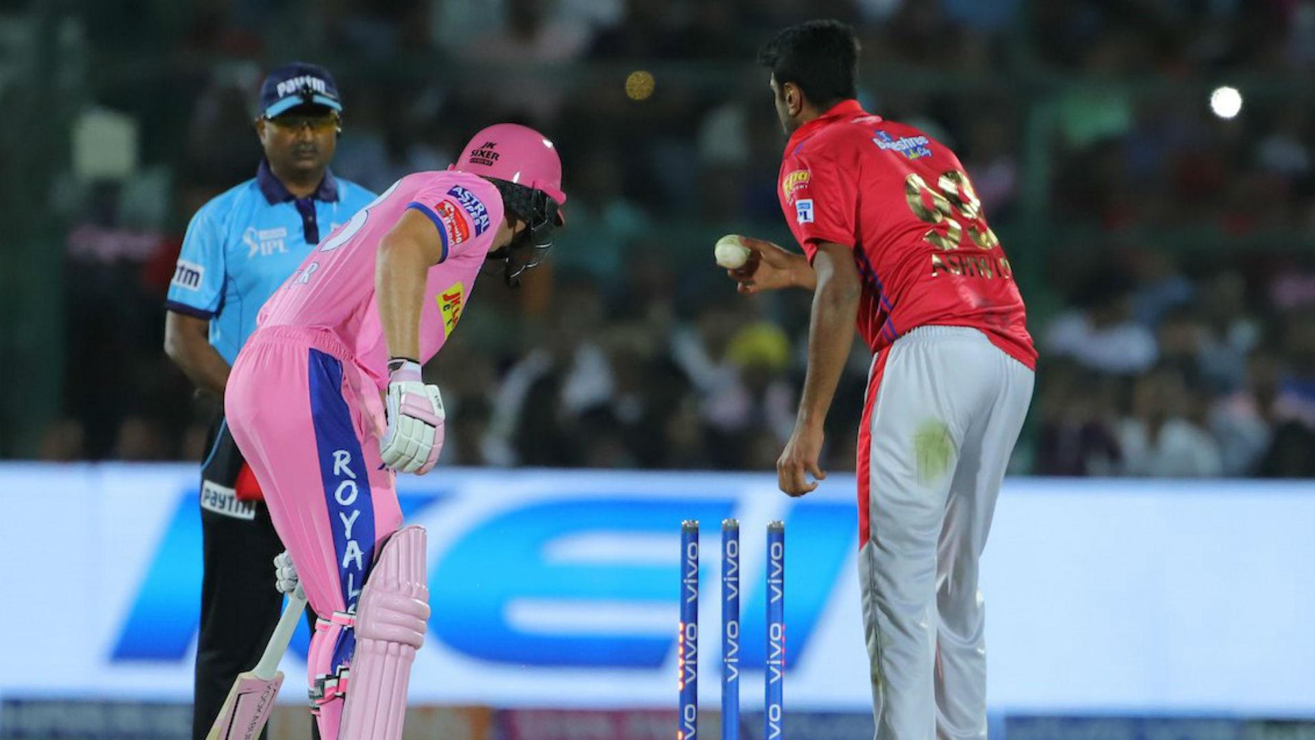 Ashwin 'Mankads' fuming Buttler to set up Kings XI win