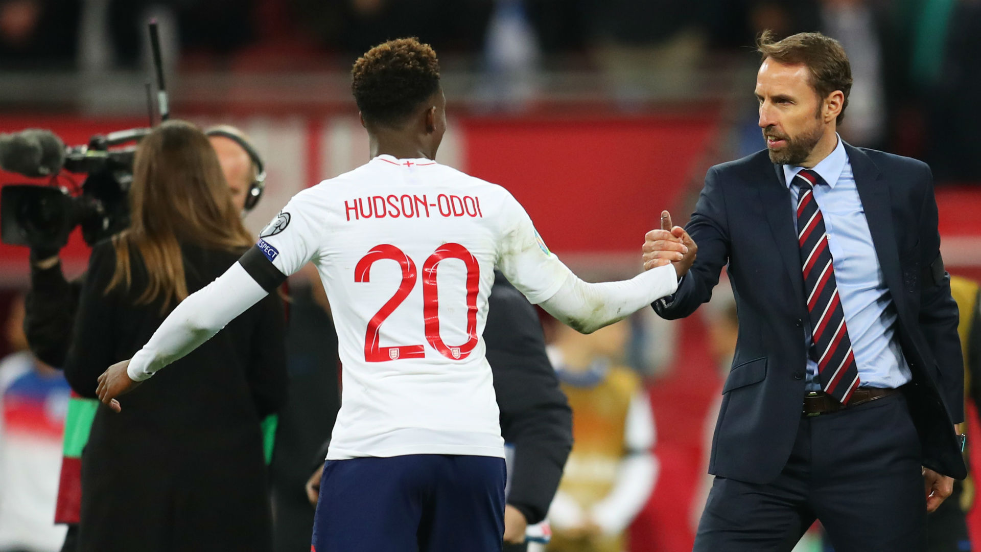 Rice, Hudson-Odoi handed first England starts in Montenegro