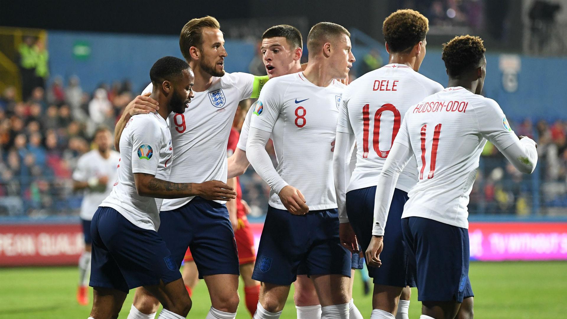 Montenegro 1 England 5: Barkley stars as rampant Three Lions hit five again