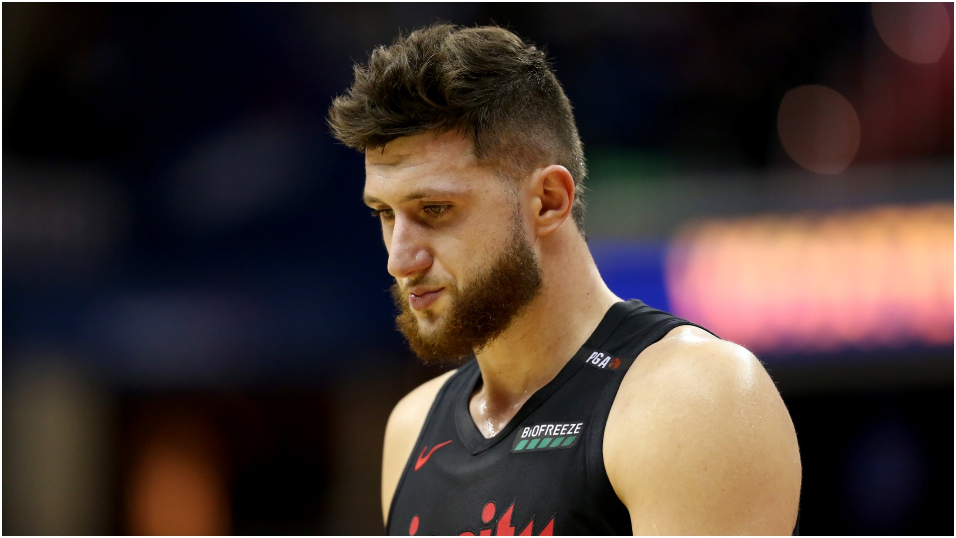 Trail Blazers confirm compound leg fractures for Nurkic