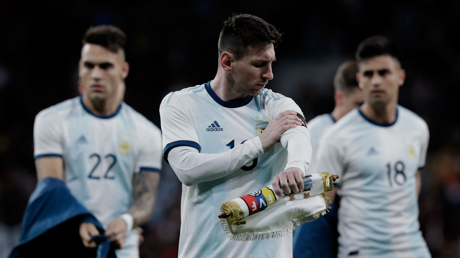 Argentina boss Scaloni has no doubts over Messi's Copa America involvlement
