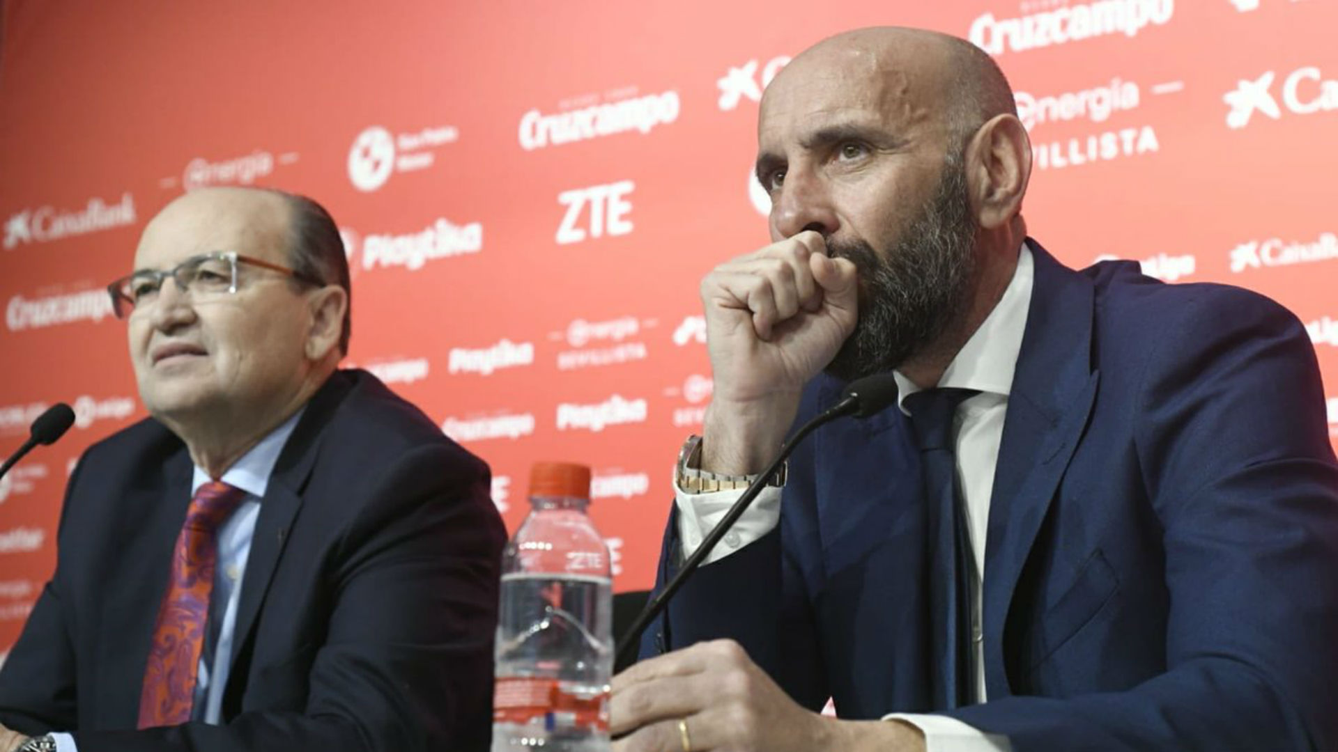 Banega glad to see Monchi back at Sevilla