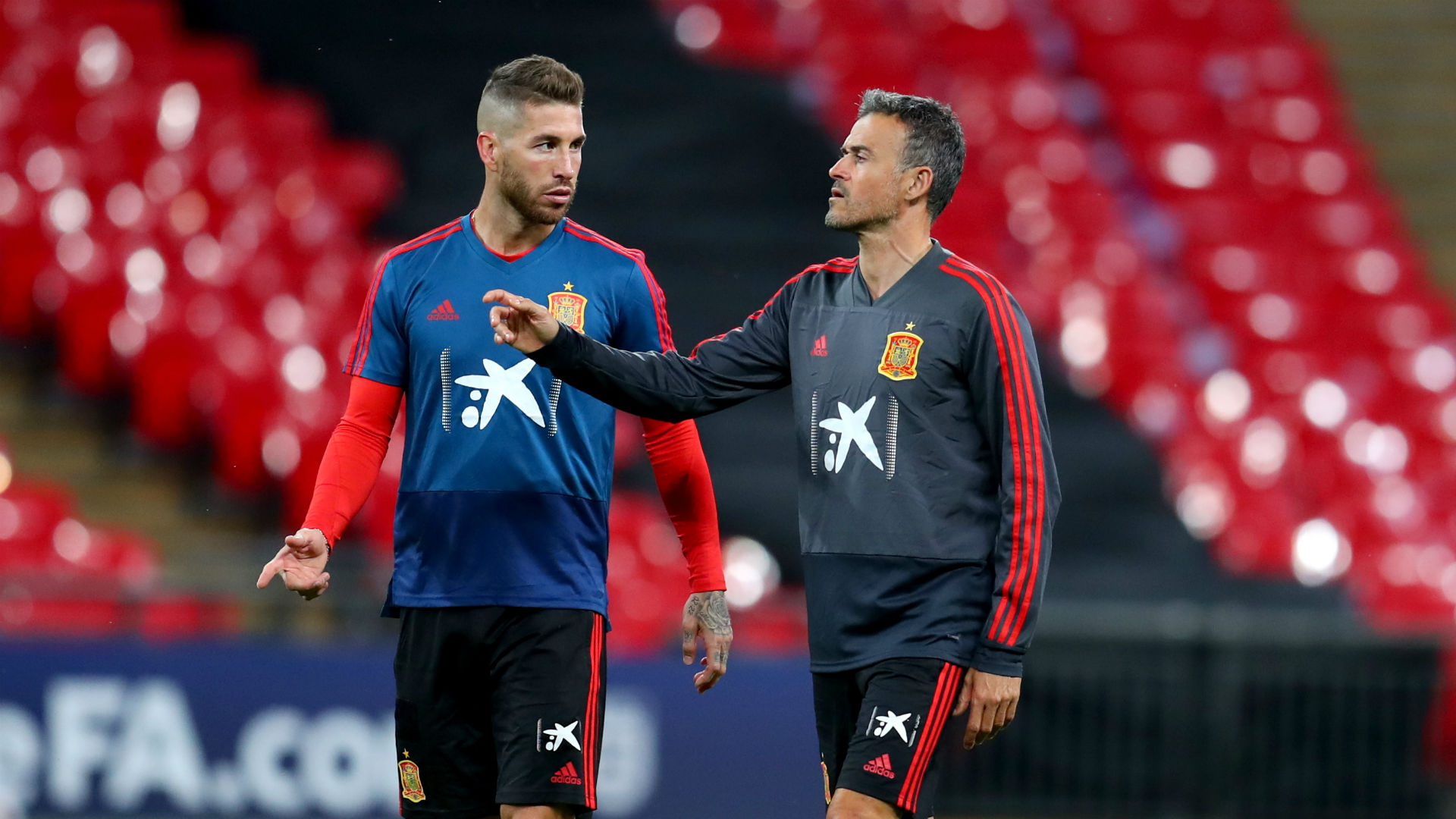Spain will win for you - Ramos' message to absent Luis Enrique