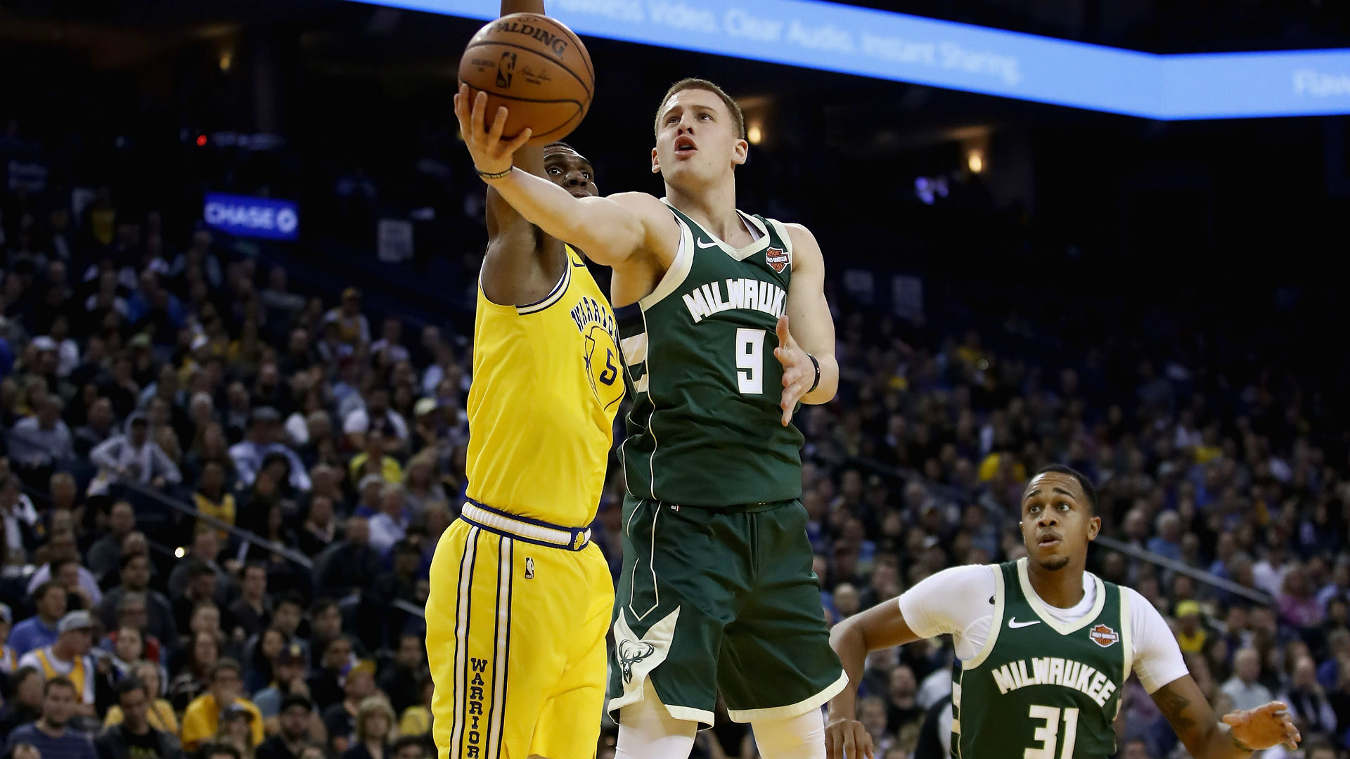 Bucks take another hit, lose Donte DiVincenzo for rest of season