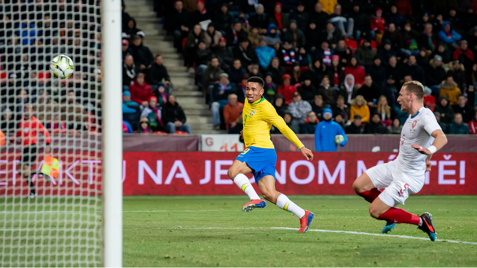 Czech Republic 1 Brazil 3: Jesus double seals unconvincing win
