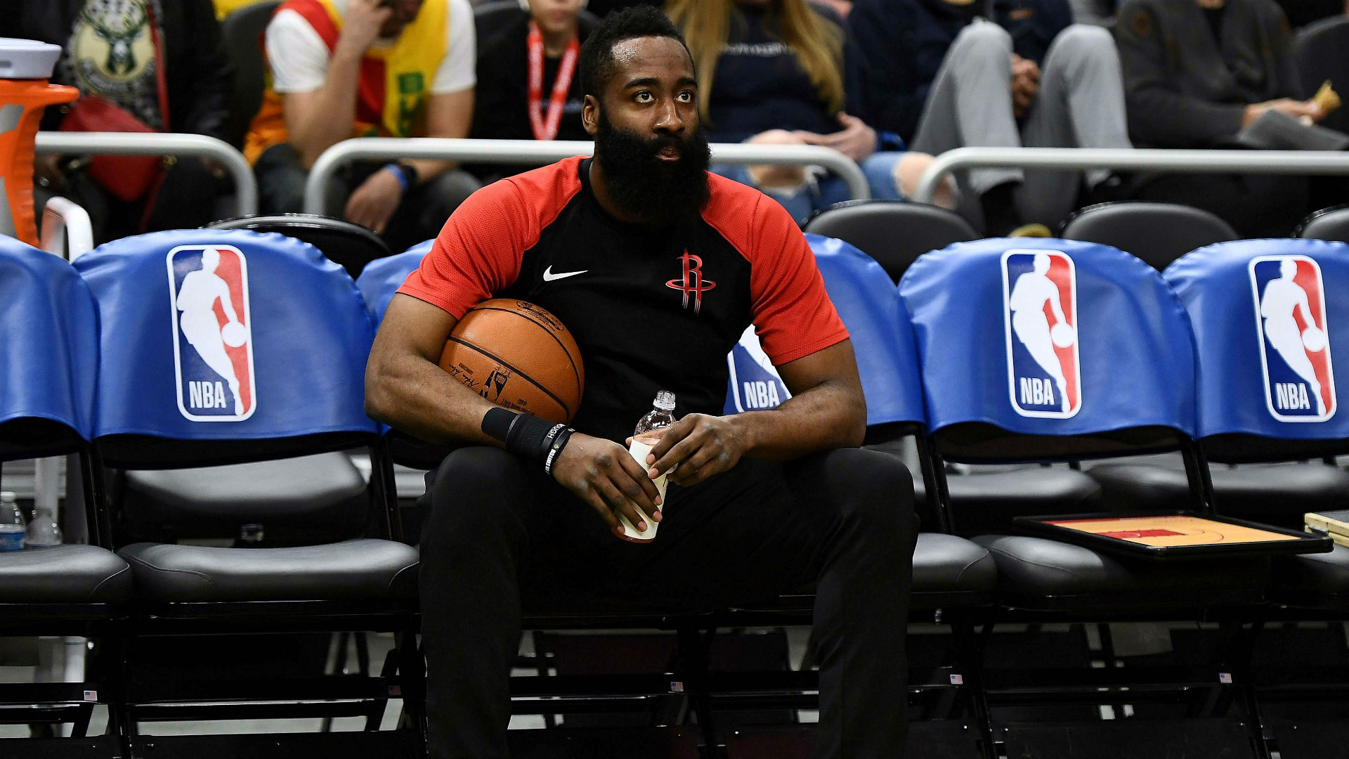 Harden still eyeing second seed after Rockets' loss at Bucks