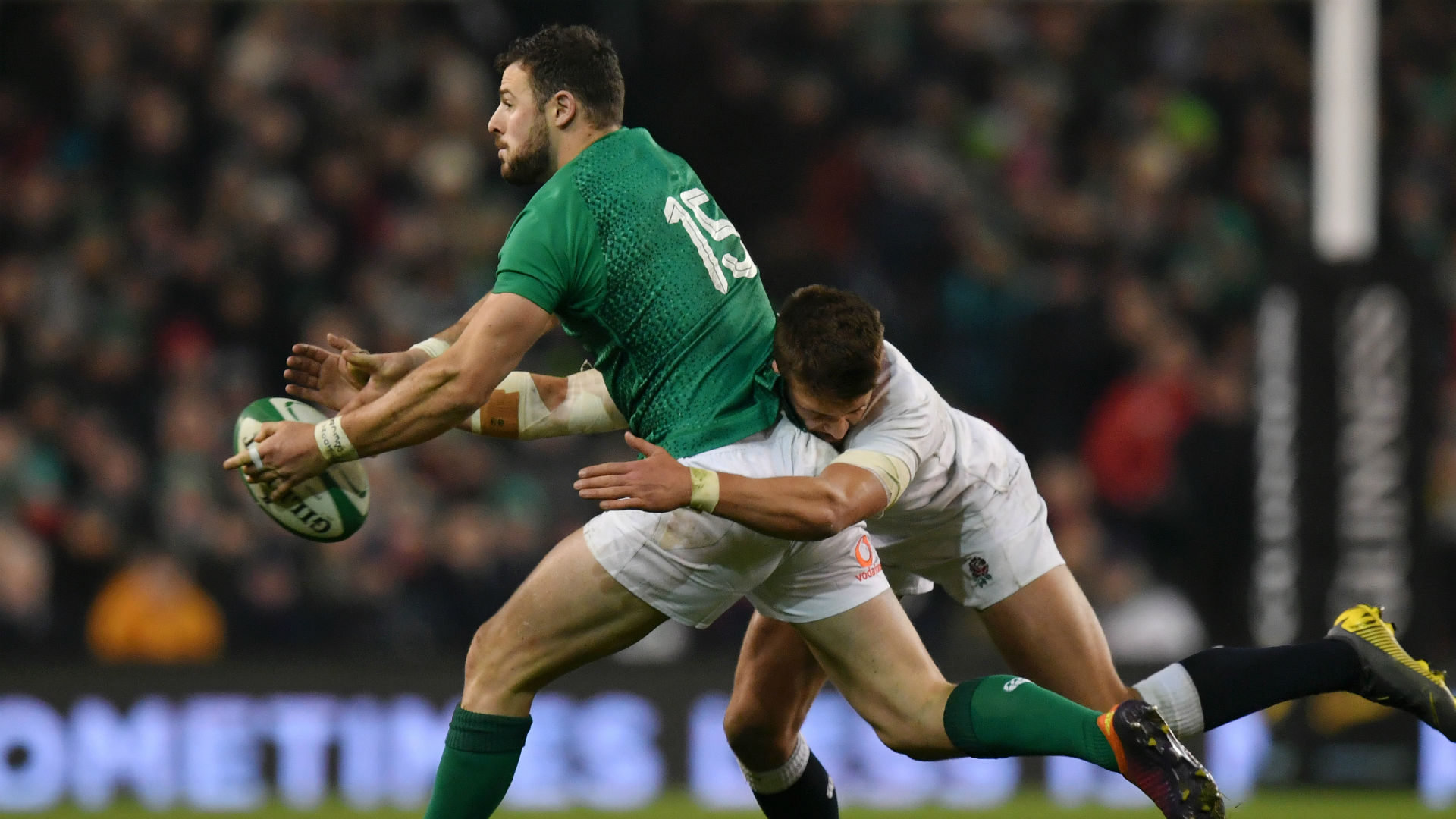 Ireland's Henshaw is doubt for France Six Nations match