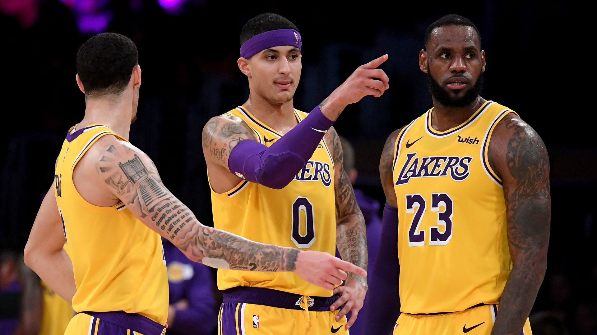 LeBron James: It's 'unfair' to expect so much from Lakers' young players