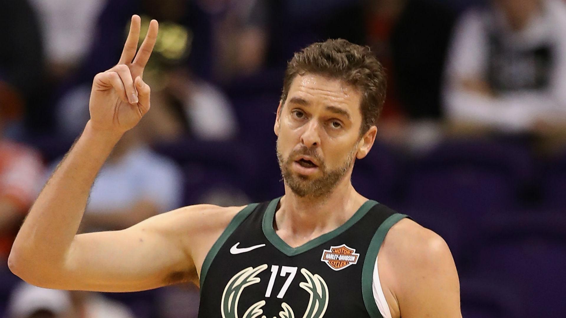 NBA playoffs 2019: Bucks' Pau Gasol to miss rest of postseason after foot surgery