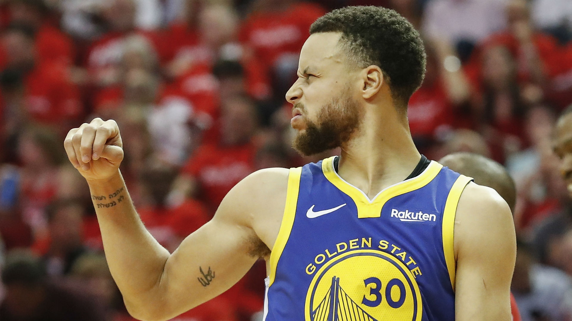 Curry leads Warriors past Rockets and into Conference finals