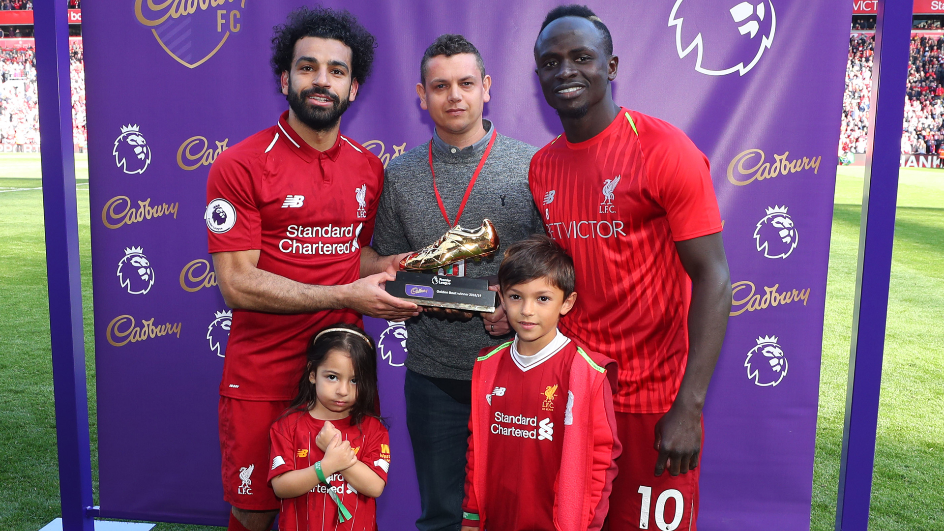 Salah enjoys Premier League Golden Boot win