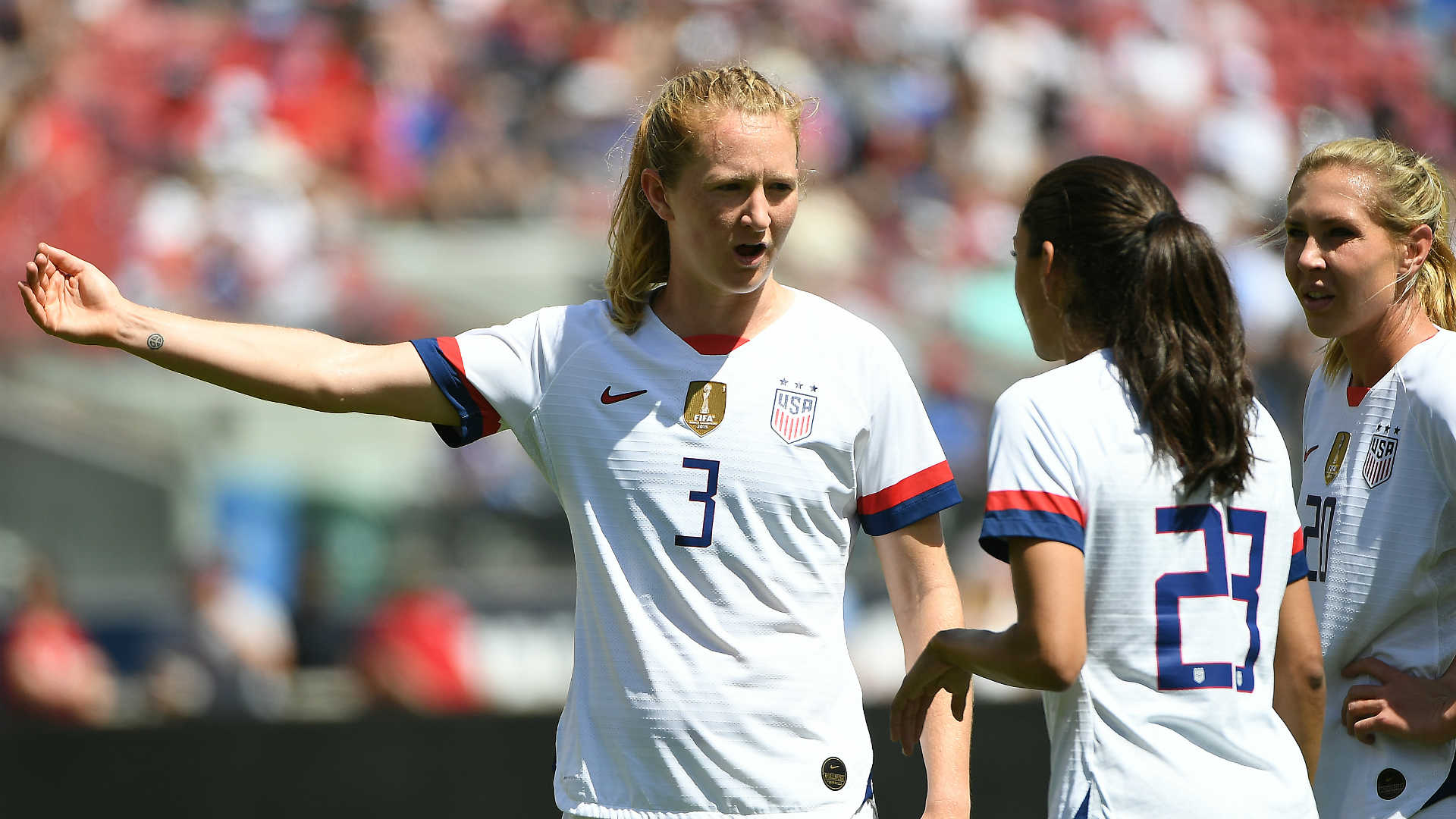 Women's World Cup 2019: USWNT opens final prep by dominating South Africa